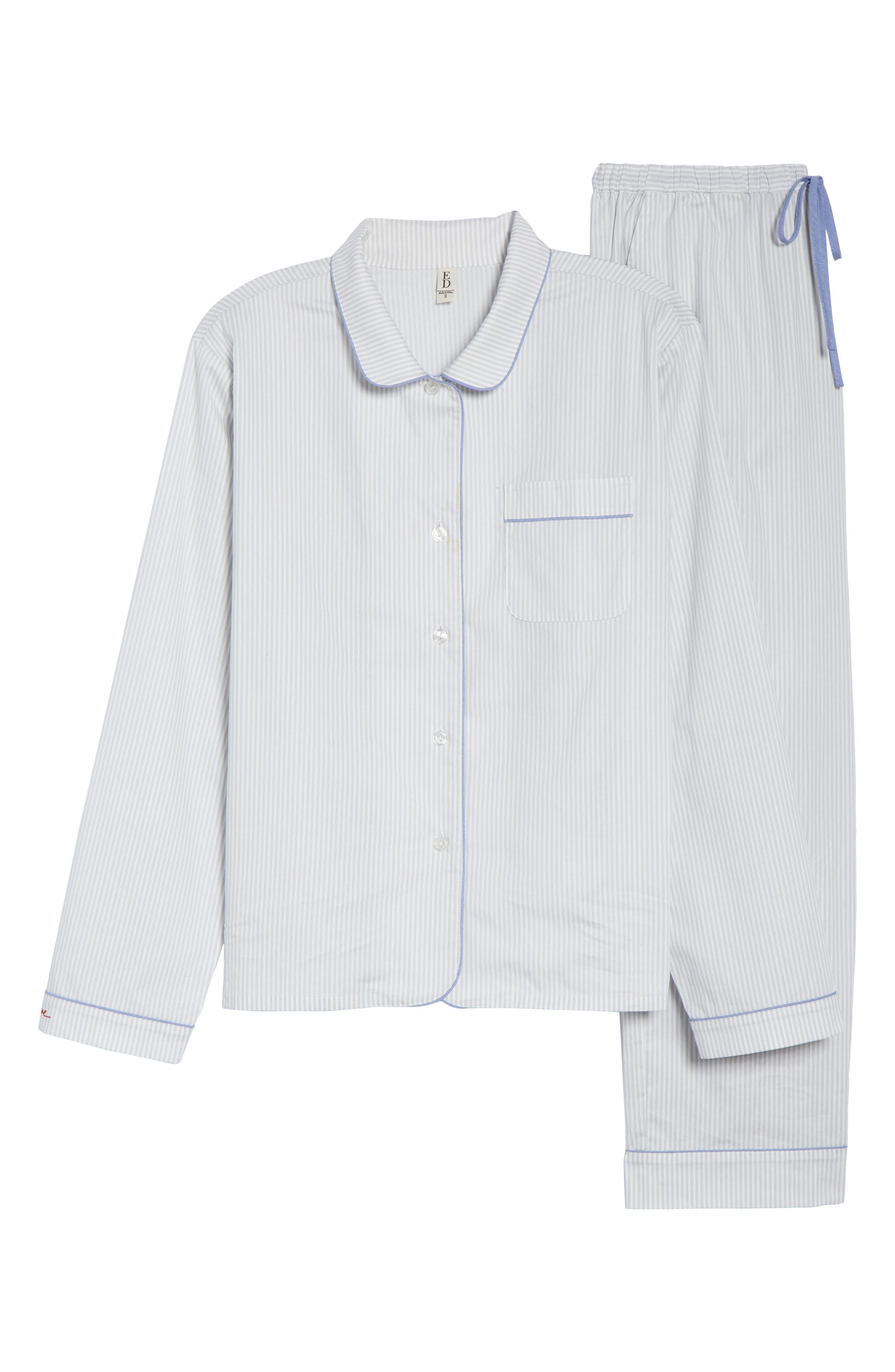 ED ELLEN DEGENERES,                             Signature Woven Pajamas,                             Alternate thumbnail 6, color,                             GREY