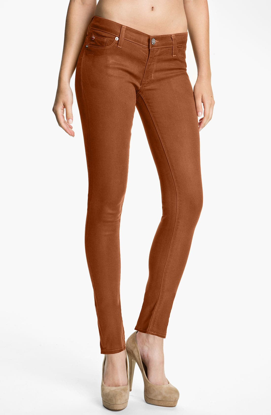 'Krista' Super Skinny Jeans,                             Main thumbnail 1, color,                             224