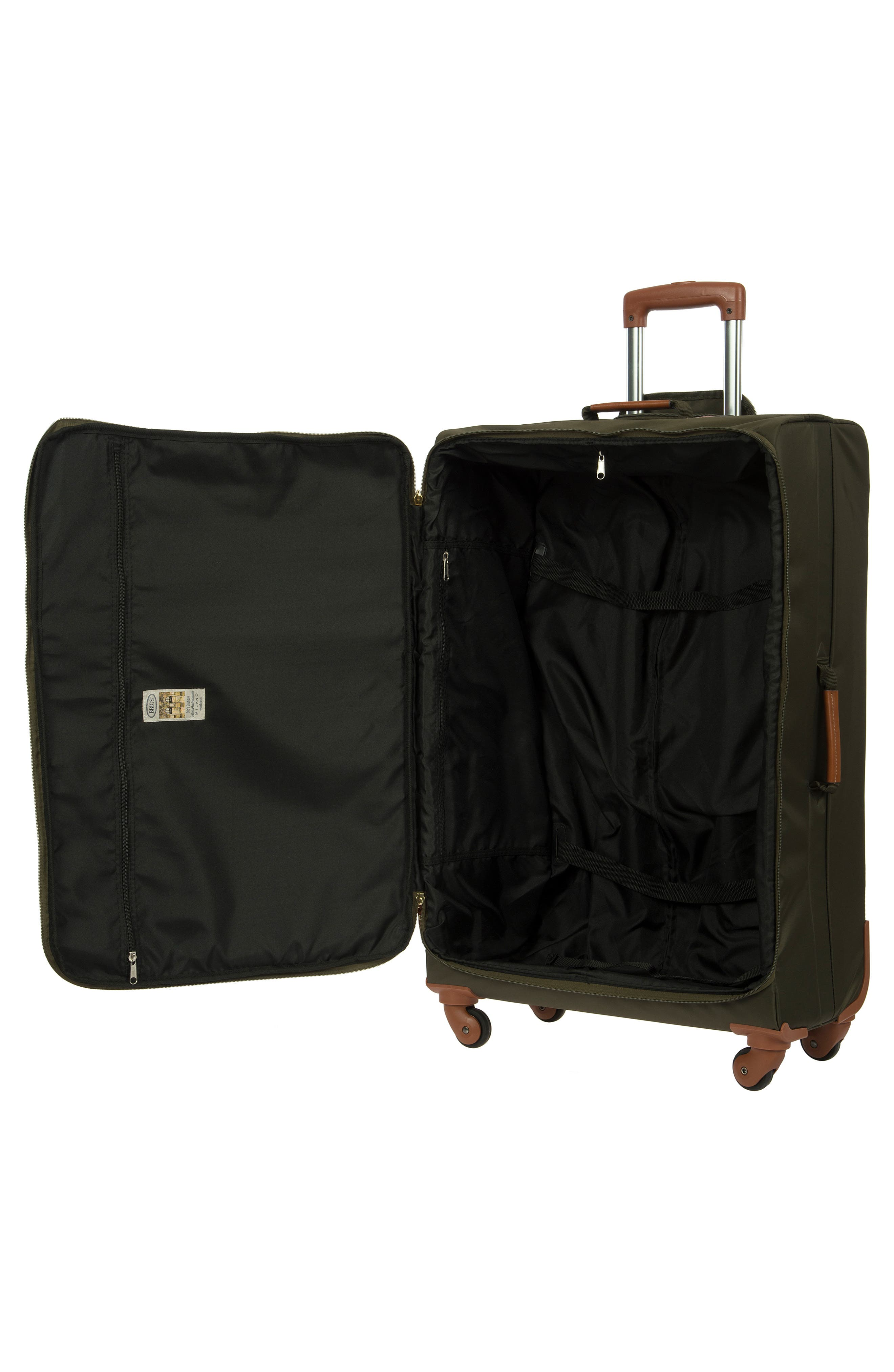 X-Bag 30-Inch Spinner Suitcase,                             Alternate thumbnail 3, color,                             OLIVE