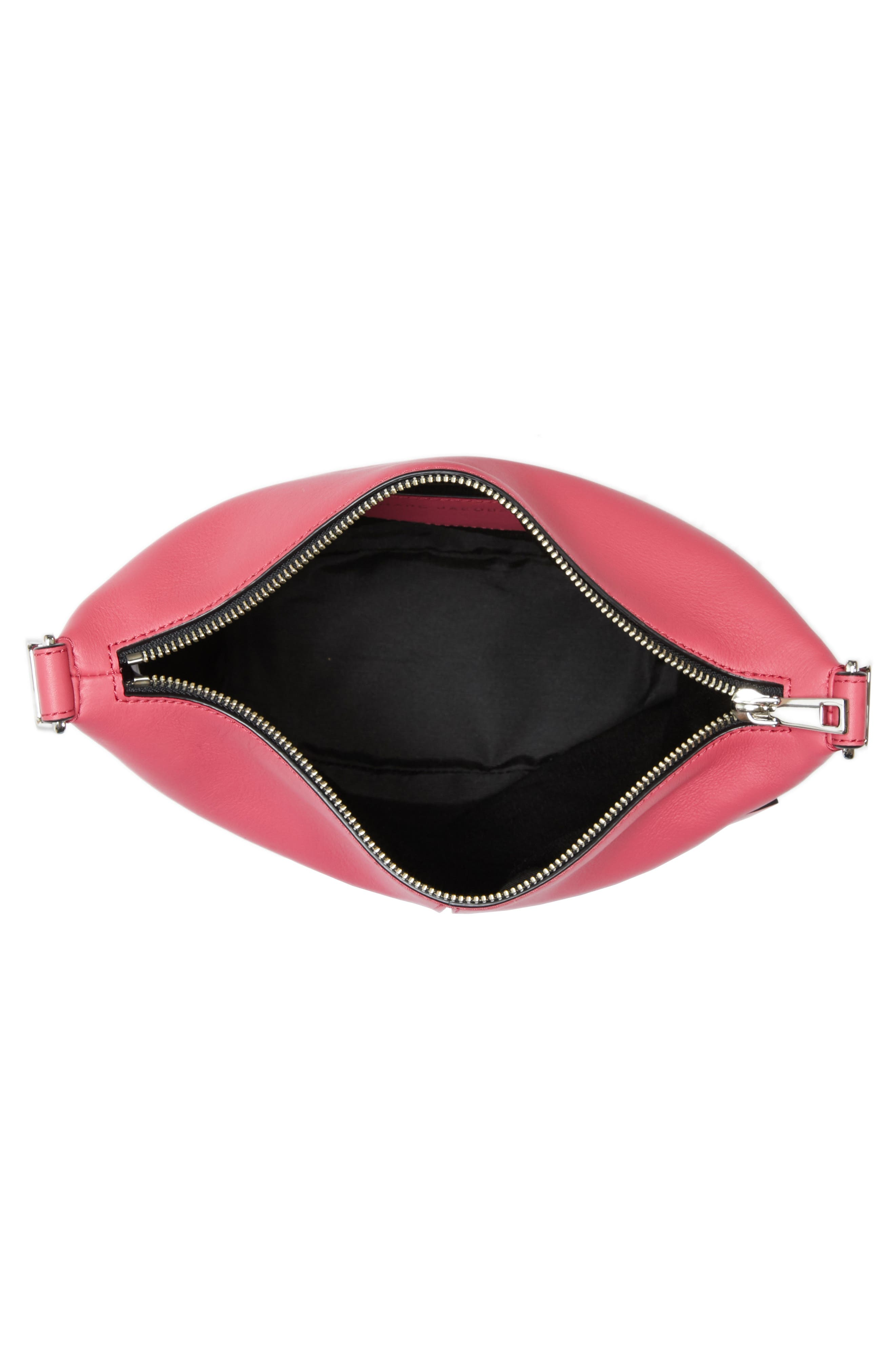 The Mini Sling Convertible Leather Hobo,                             Alternate thumbnail 28, color,