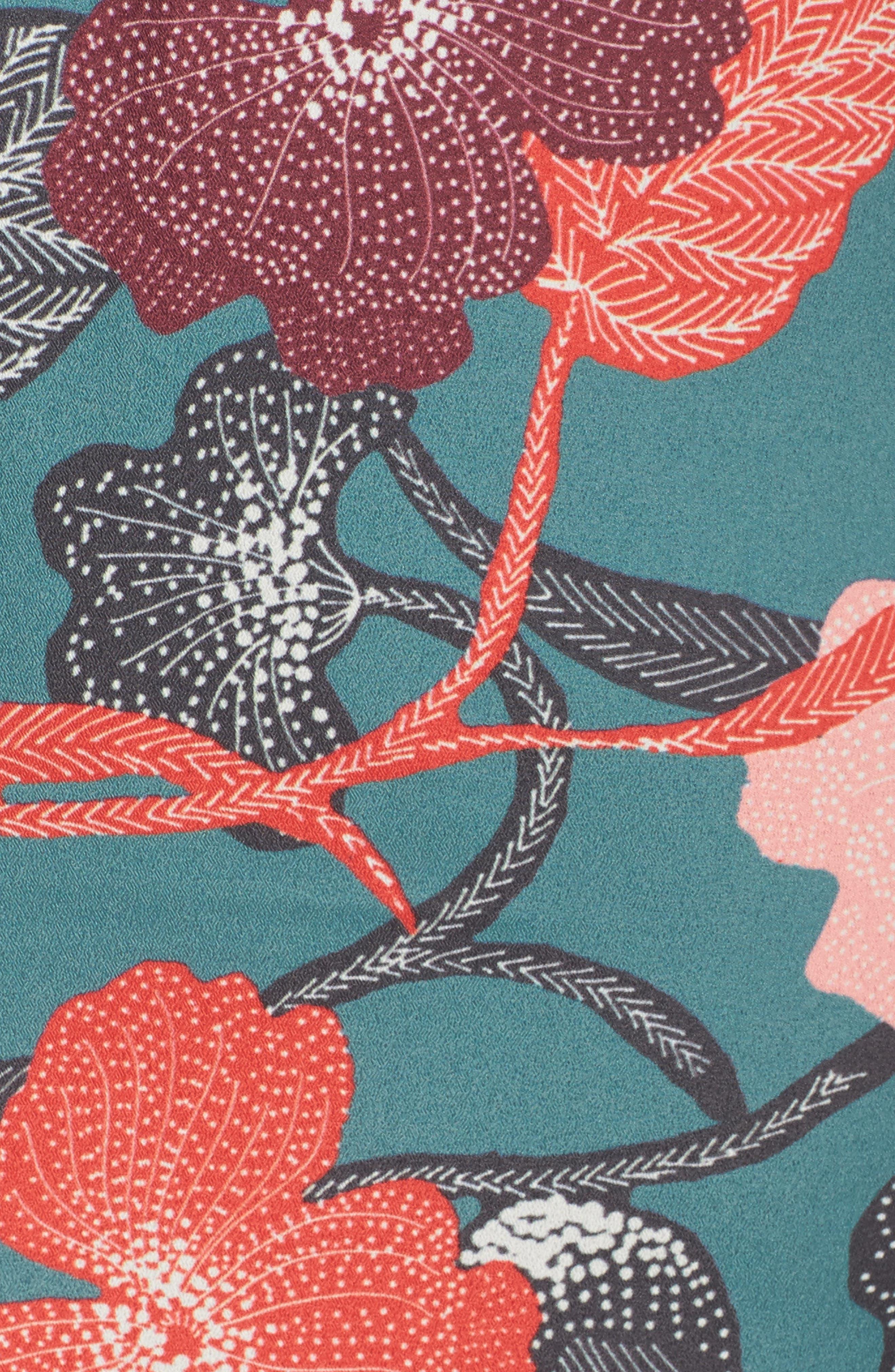 Gwen Tie Slipdress,                             Alternate thumbnail 5, color,                             340