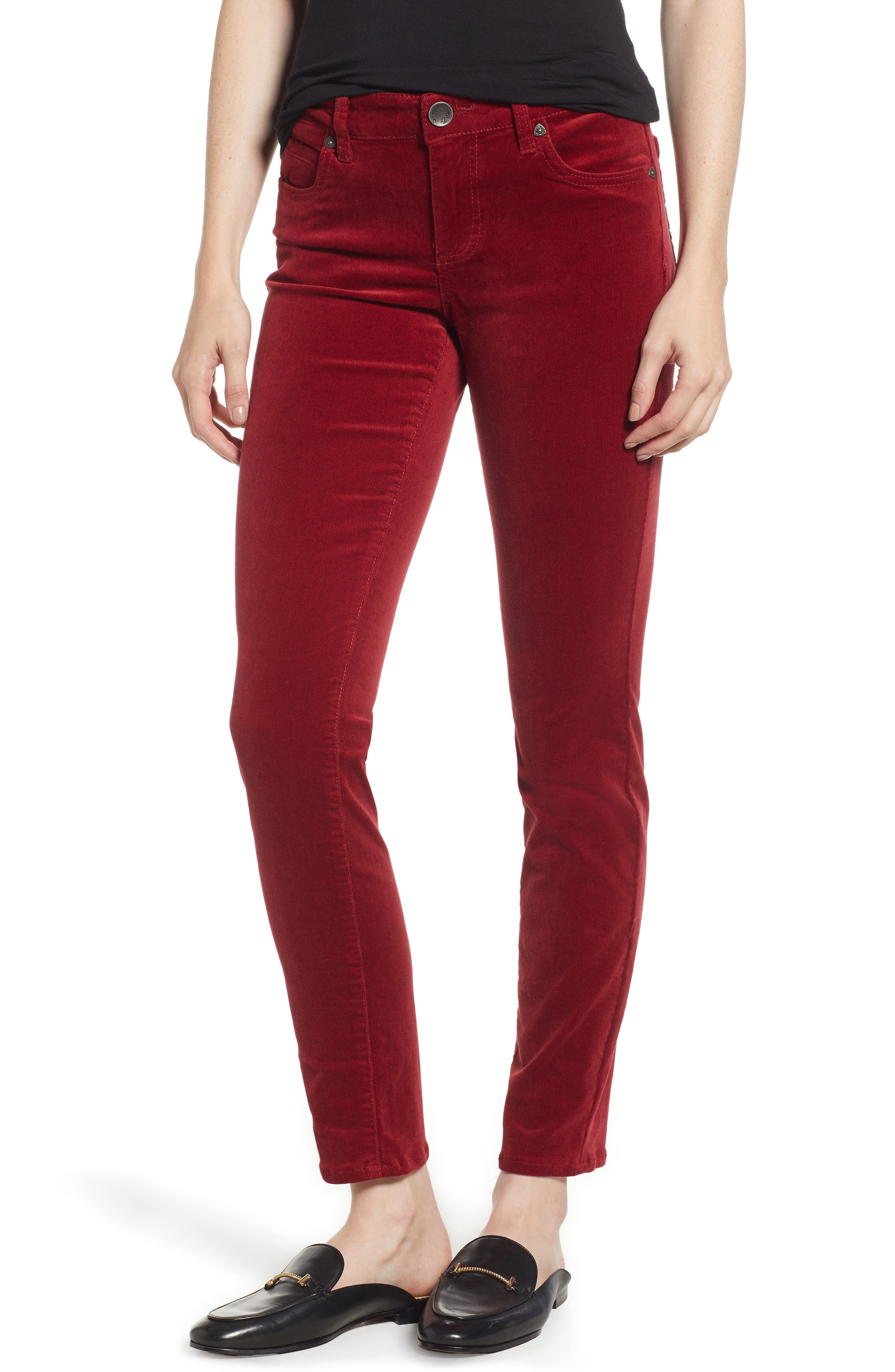 'Diana' Stretch Corduroy Skinny Pants,                             Main thumbnail 15, color,