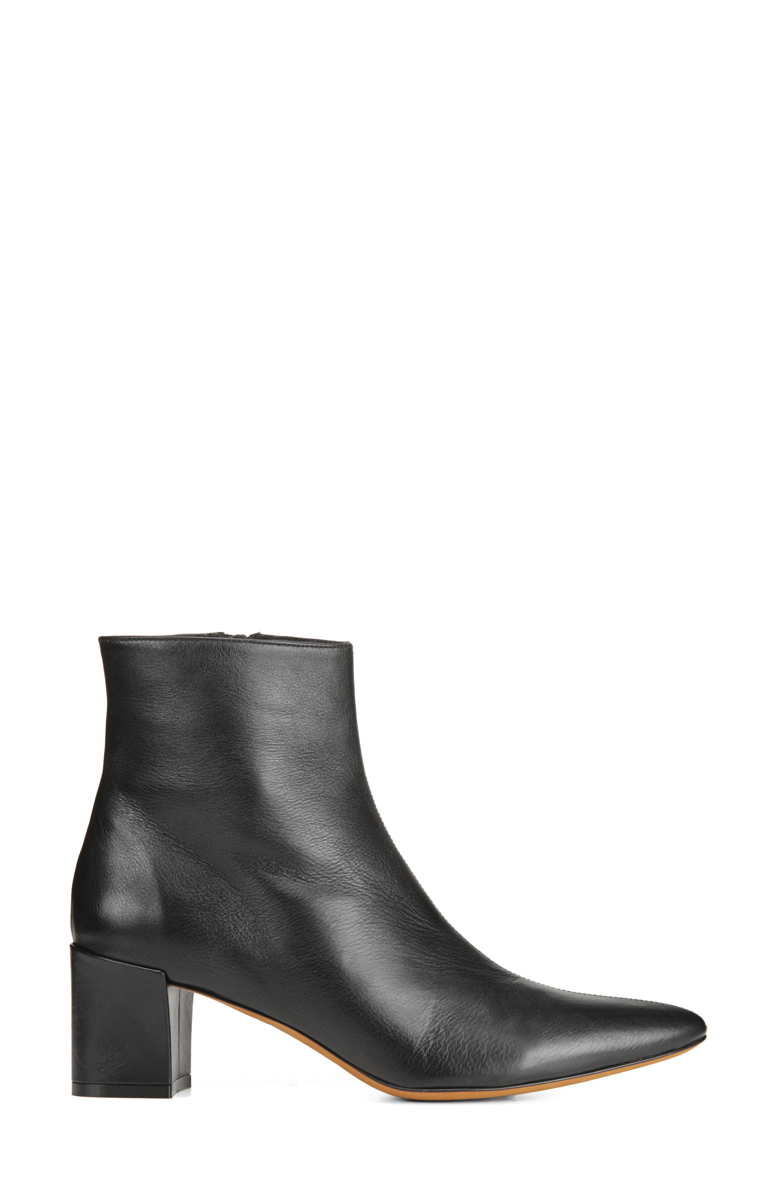 Lanica Bootie,                             Alternate thumbnail 3, color,                             BLACK