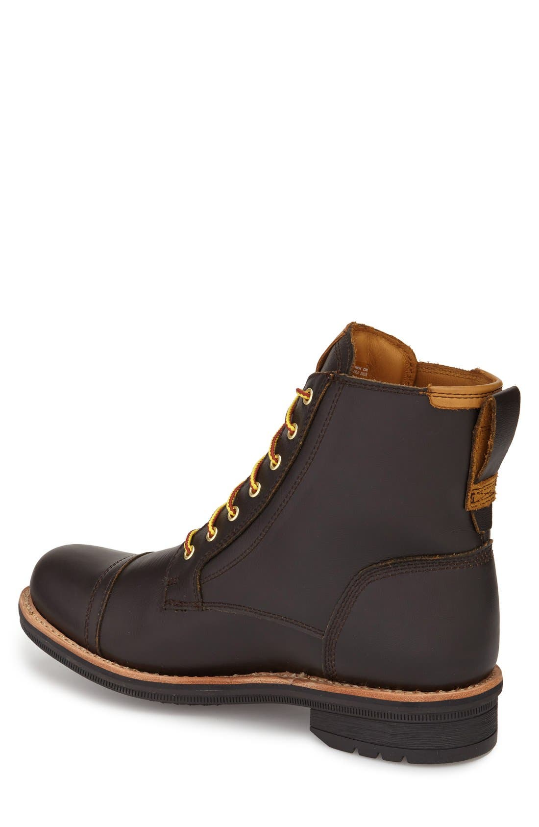 TIMBERLAND,                             'Willoughby' Cap Toe Boot,                             Alternate thumbnail 2, color,                             200