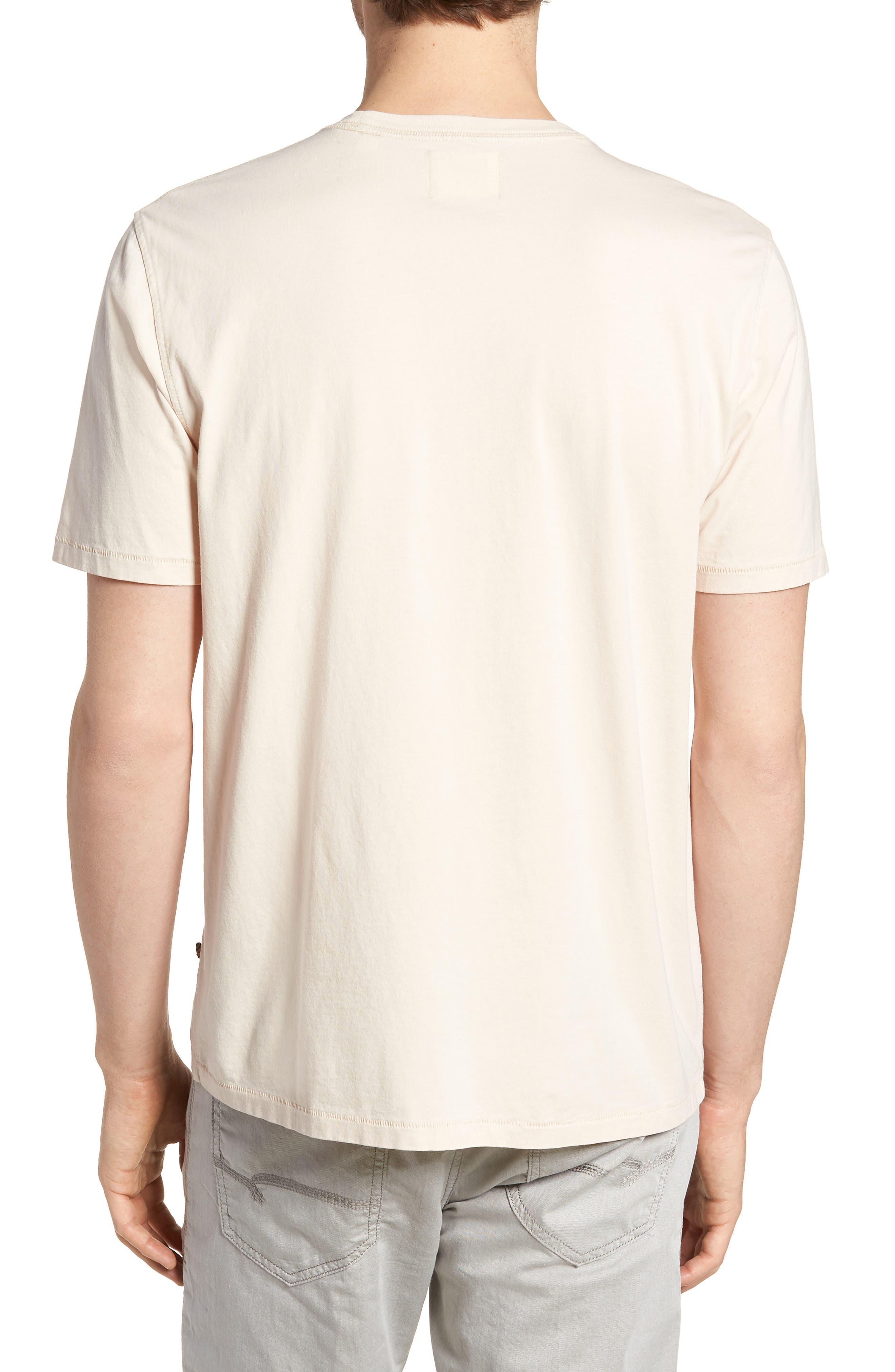 Crewneck T-Shirt,                             Alternate thumbnail 2, color,                             BLUSH