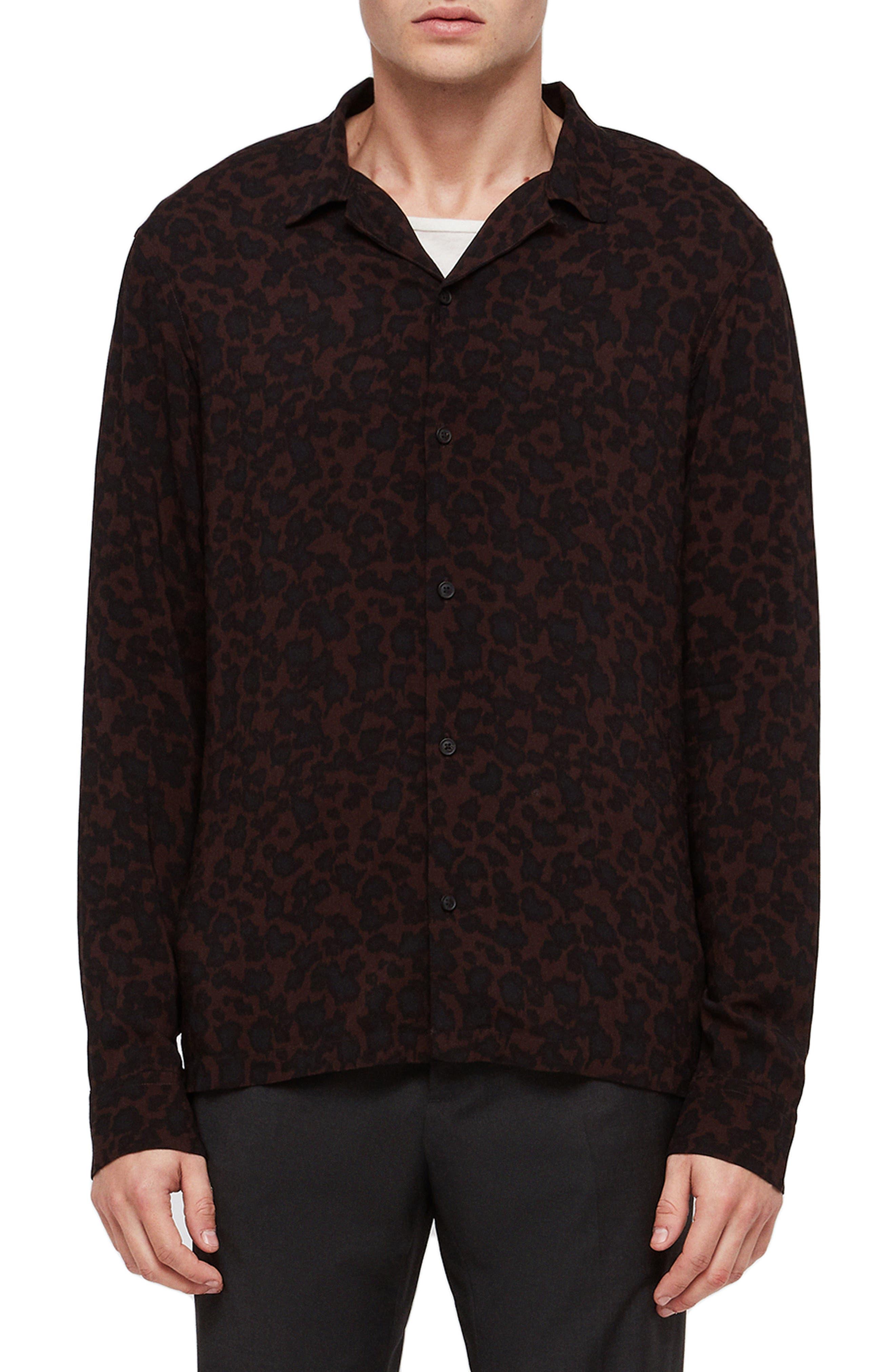 Sigfried Regular Fit Print Shirt, Main, color, 600