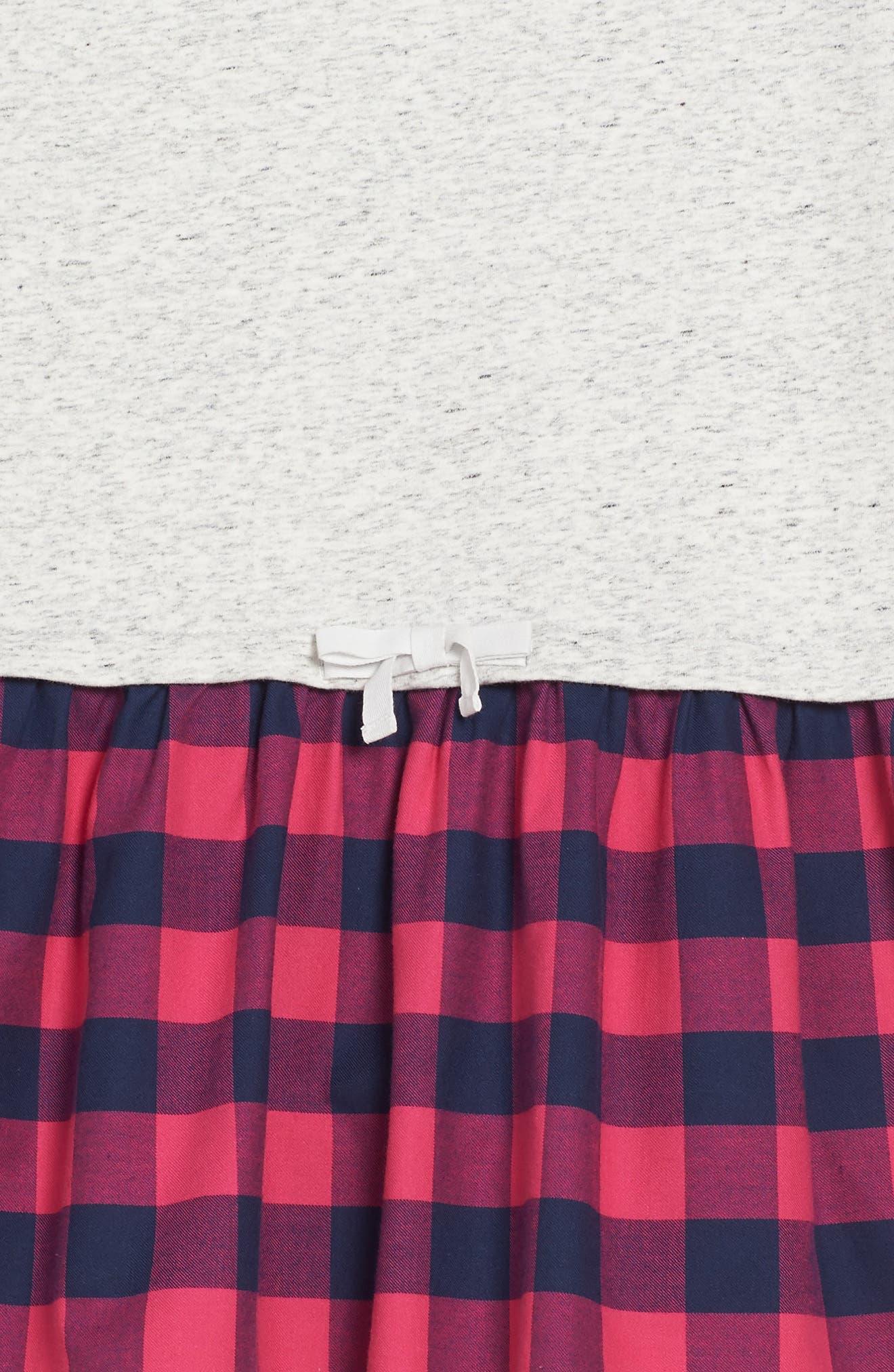 Buffalo Check Sweatshirt,                             Alternate thumbnail 3, color,                             039
