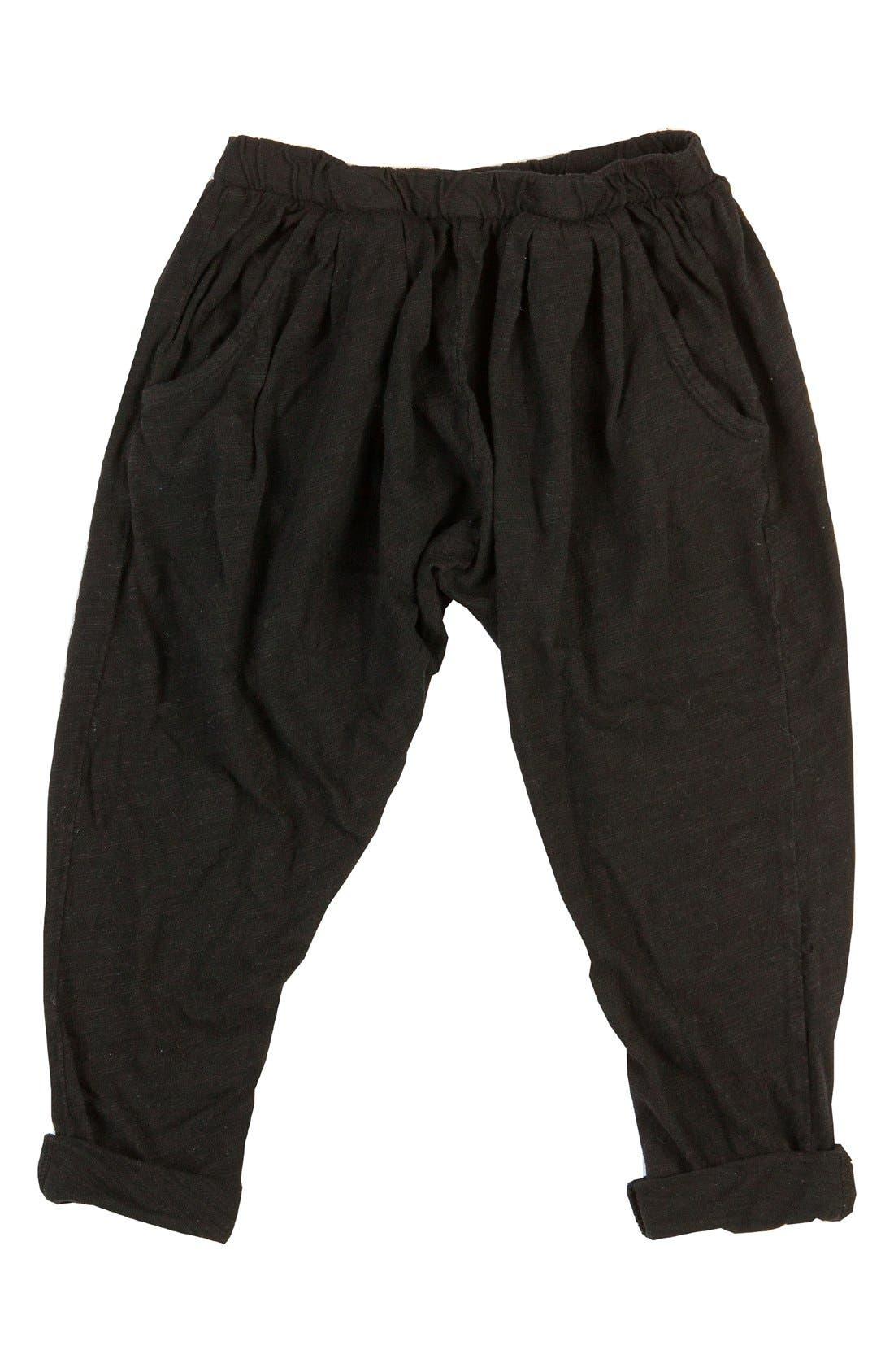 BOWIE X JAMES Harem Pants, Main, color, 001