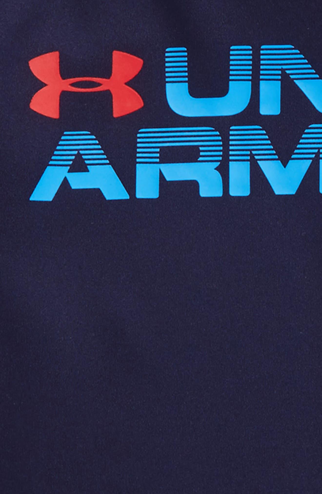 Wordmark Hooded T-Shirt,                             Alternate thumbnail 7, color,