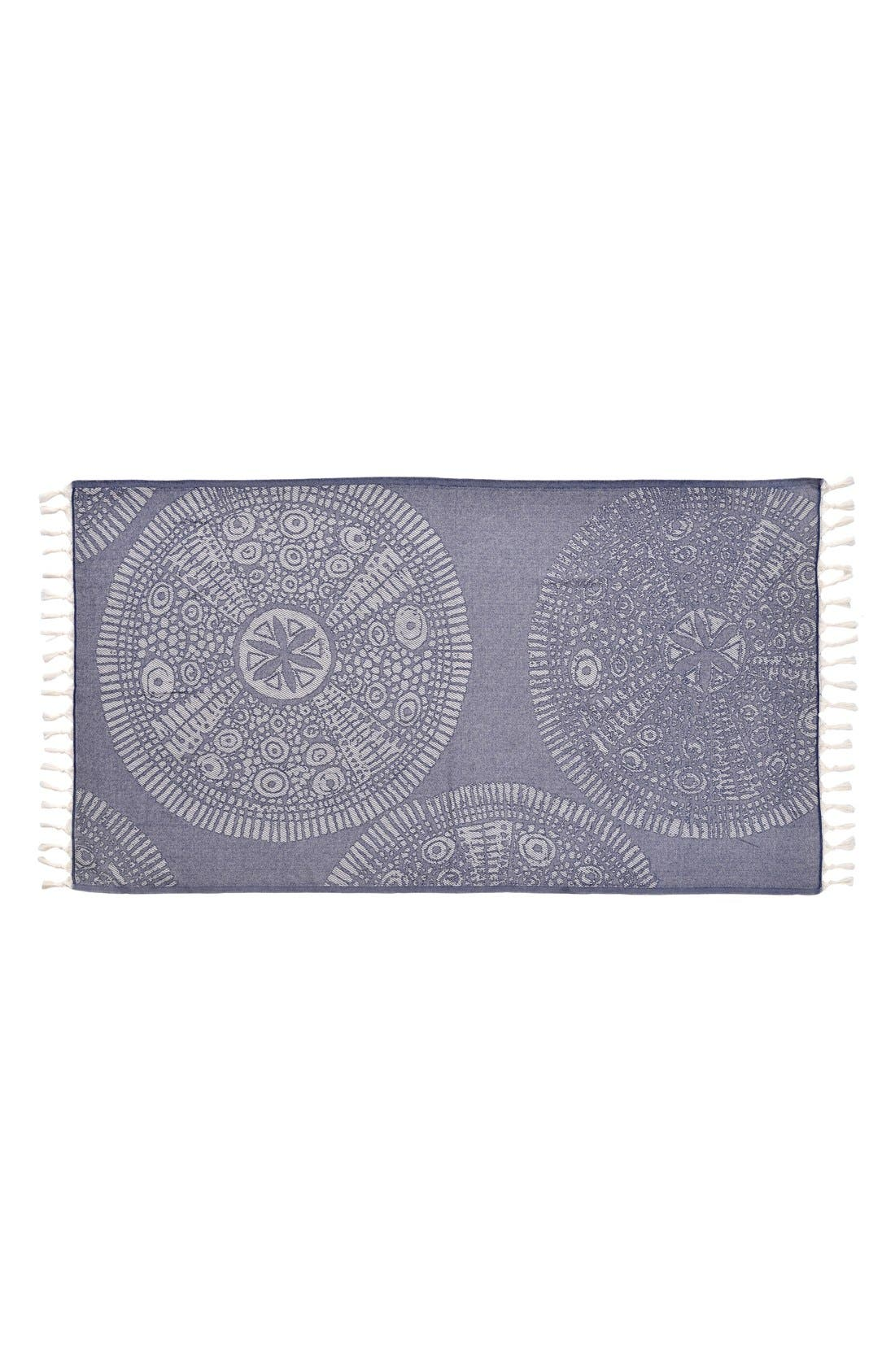 Anatolian Turkish Pestemal Beach Towel,                             Alternate thumbnail 6, color,                             400