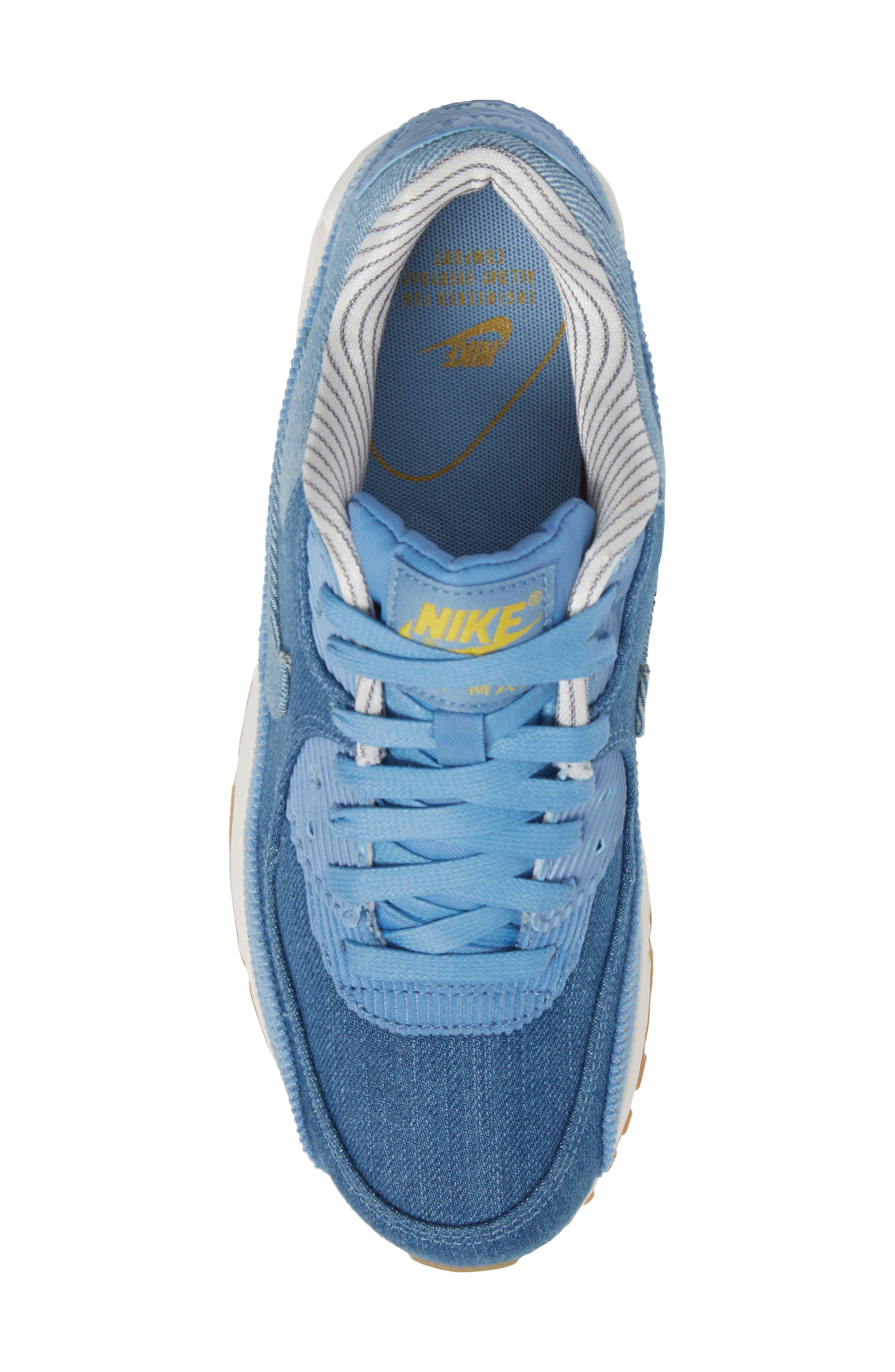 Air Max 90 SE Sneaker,                             Alternate thumbnail 44, color,