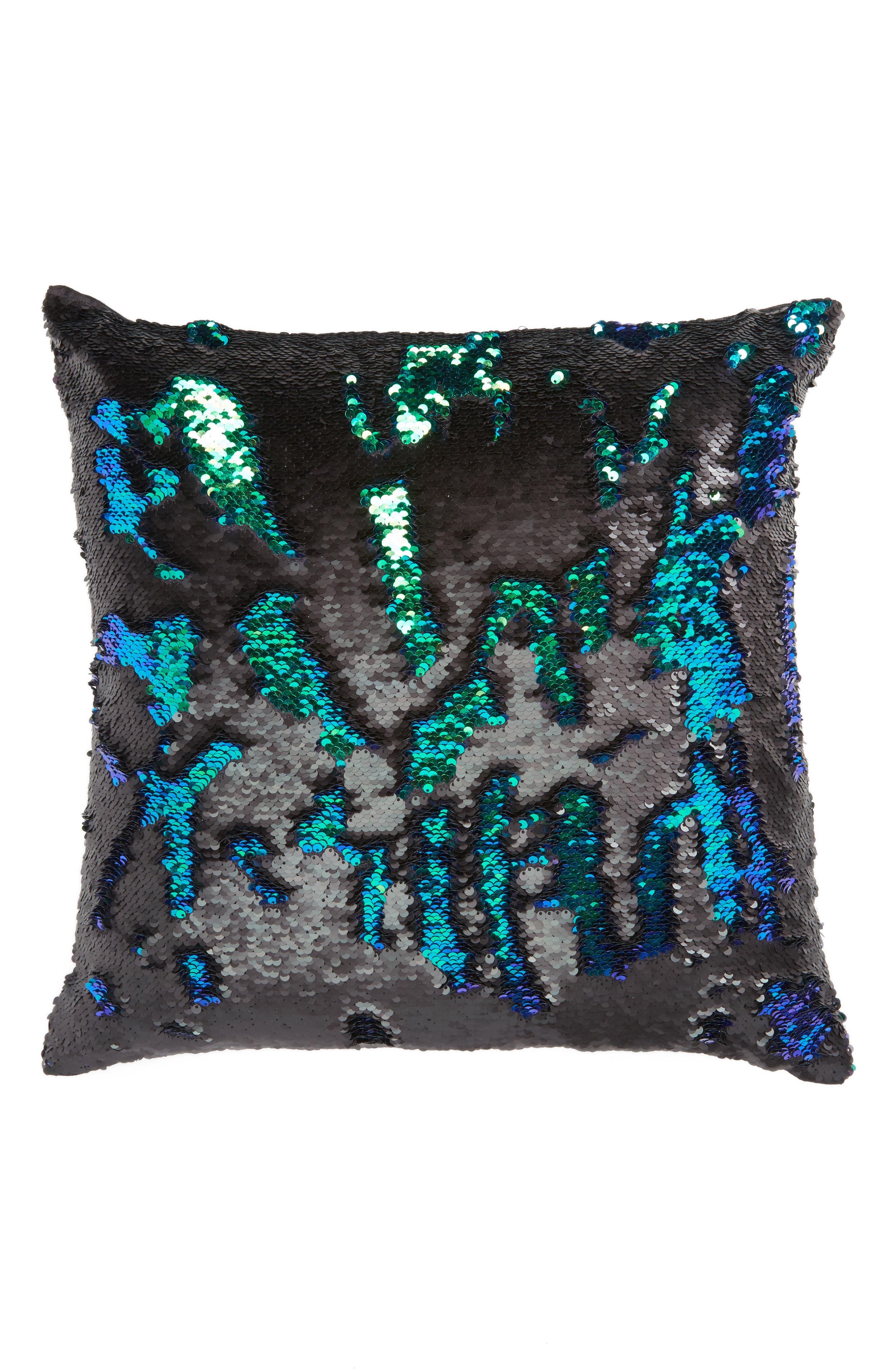 Sequin Pillow,                             Alternate thumbnail 5, color,                             001