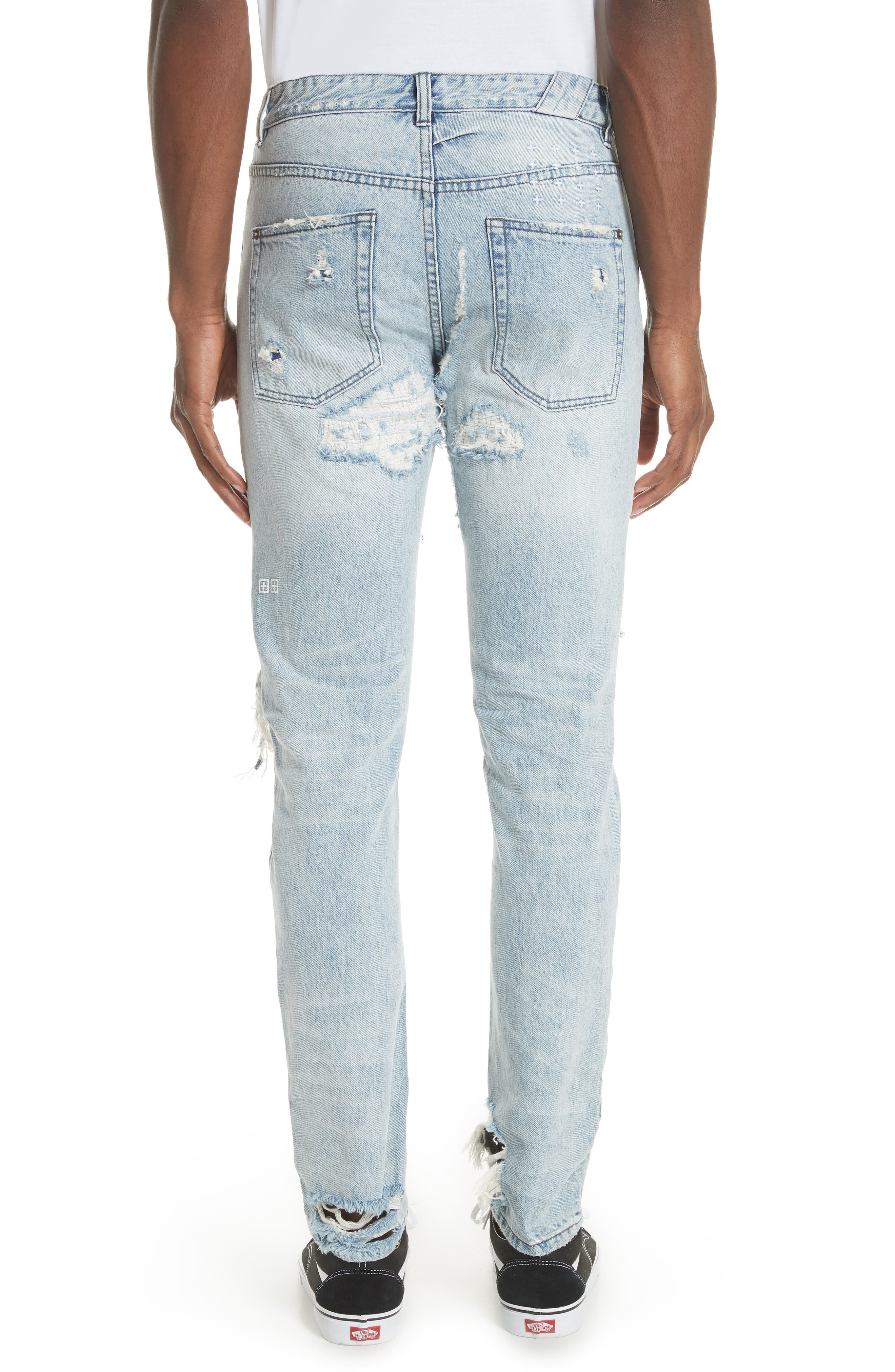 Chitch Tropo Trash Jeans,                             Alternate thumbnail 2, color,                             DENIM