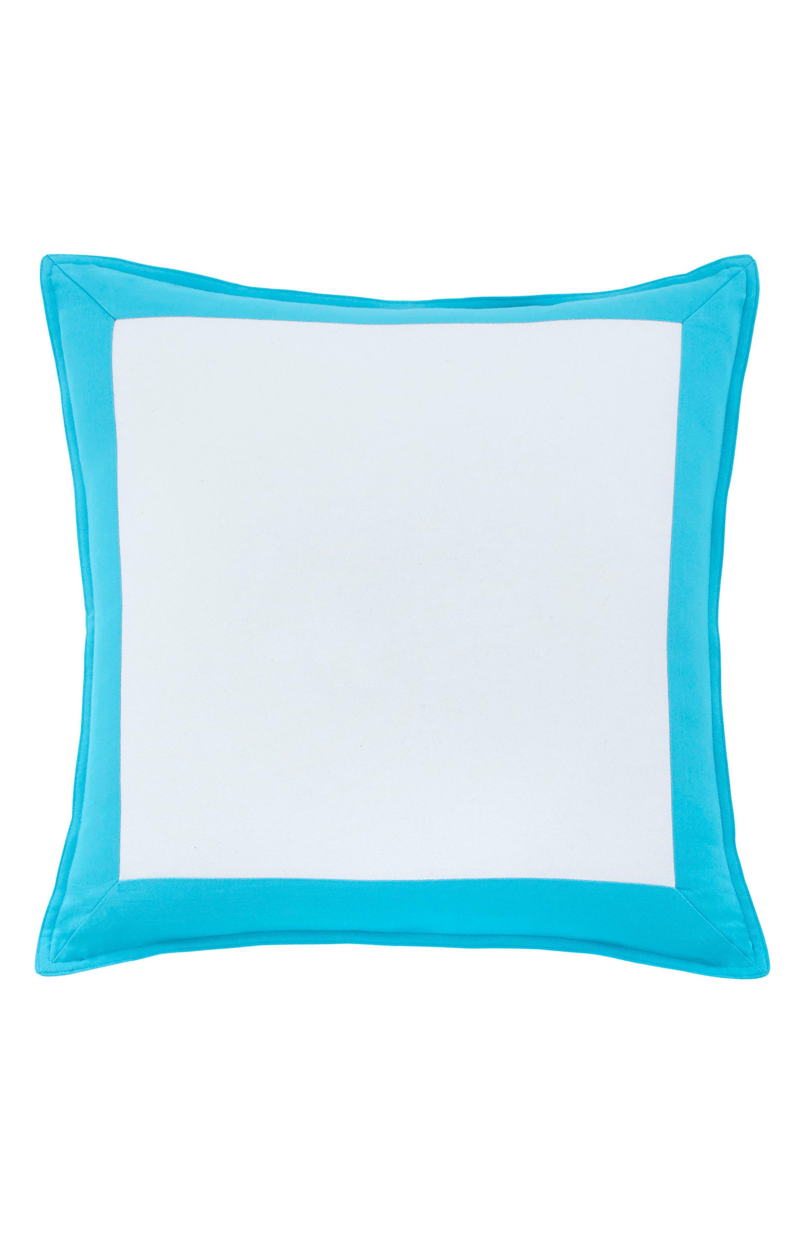 Skipjack Chino Accent Pillow,                             Main thumbnail 1, color,                             ISLAND BLUE