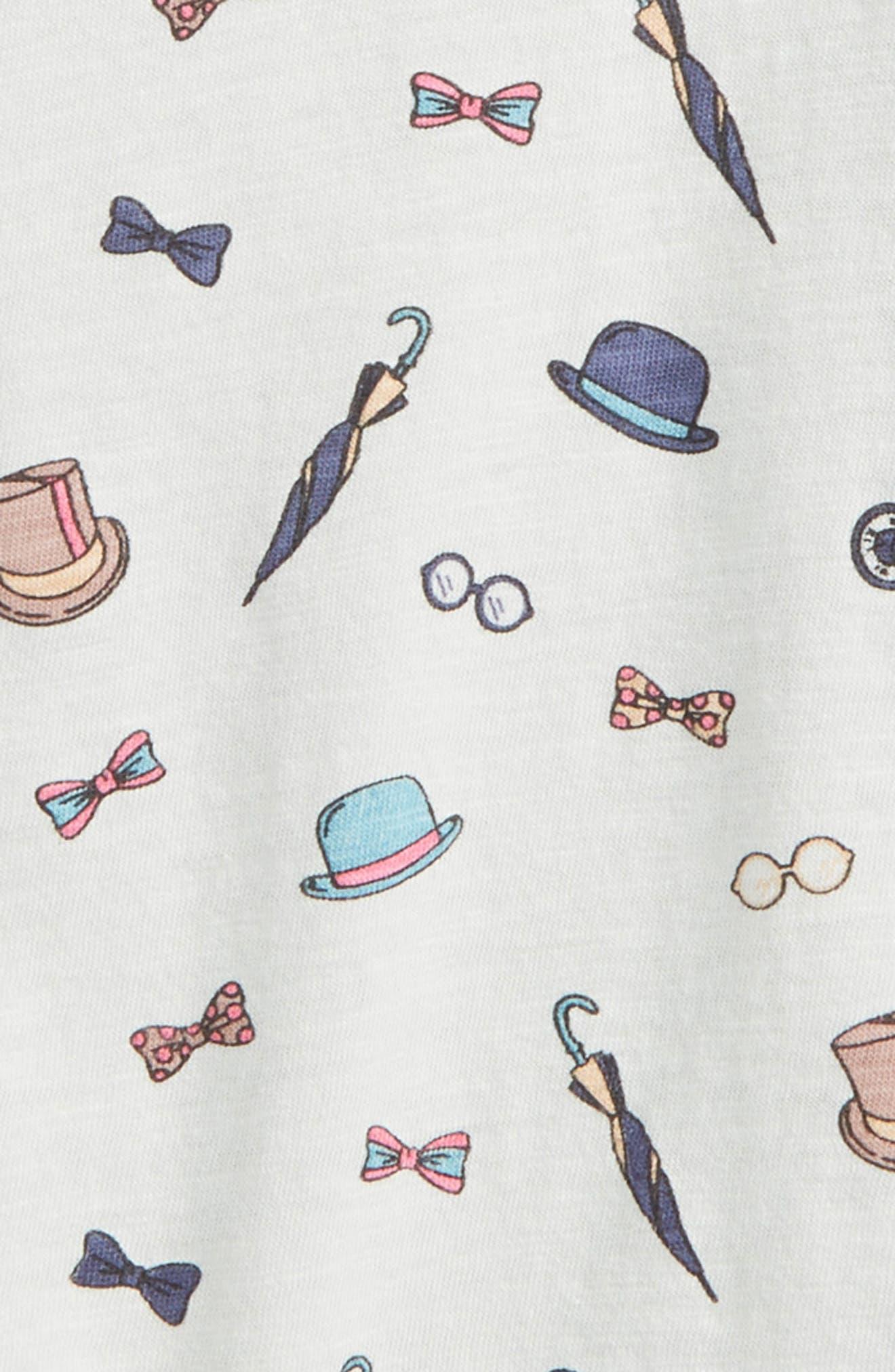 Peek Dandy Print T-Shirt,                             Alternate thumbnail 2, color,                             020