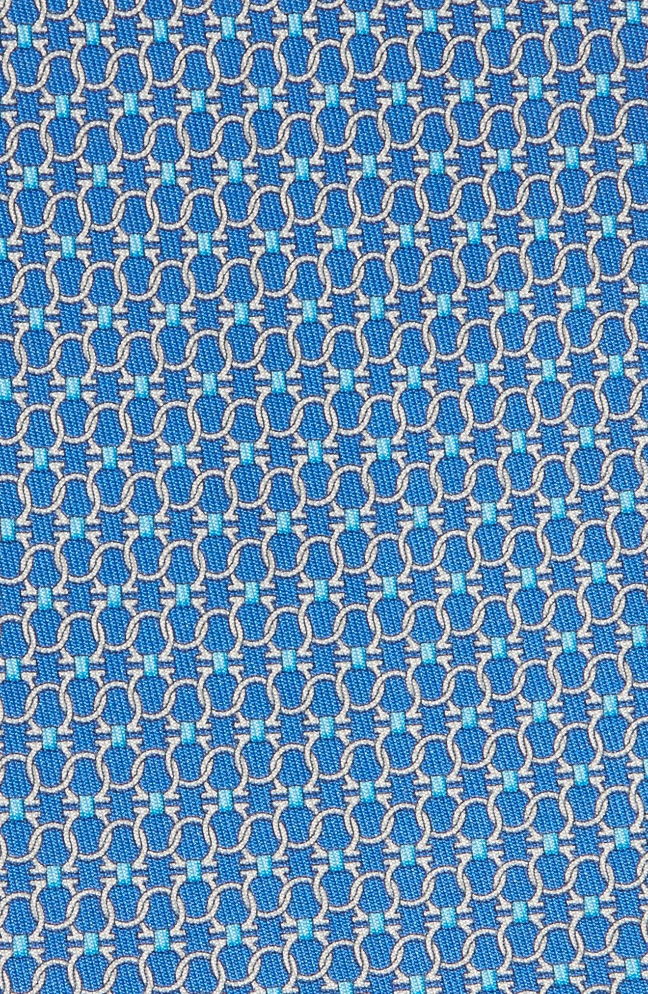 Geometric Silk Tie,                             Alternate thumbnail 2, color,                             494
