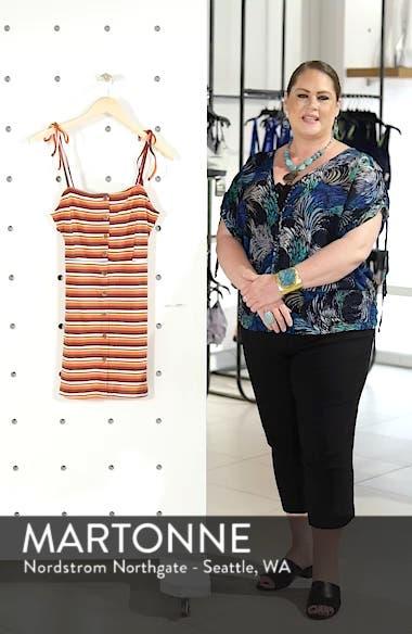Stripe Button Down Minidress, sales video thumbnail