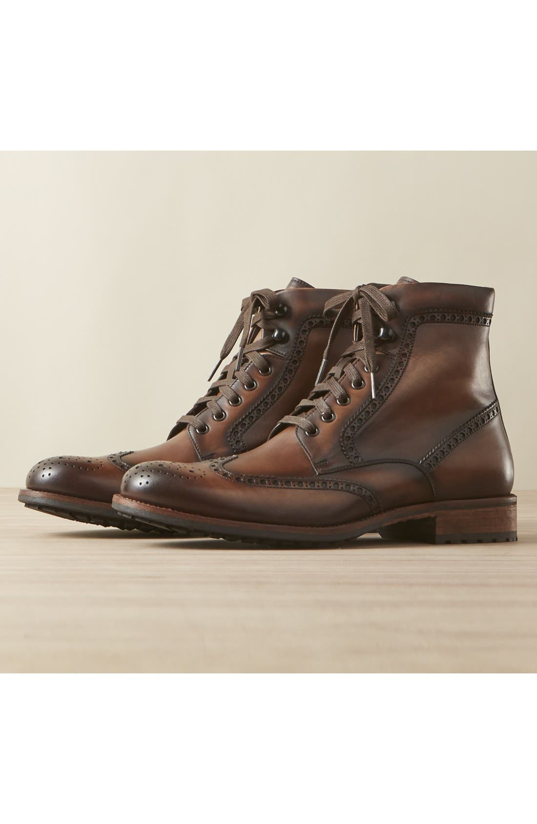 Maddox Wingtip Boot,                             Main thumbnail 1, color,