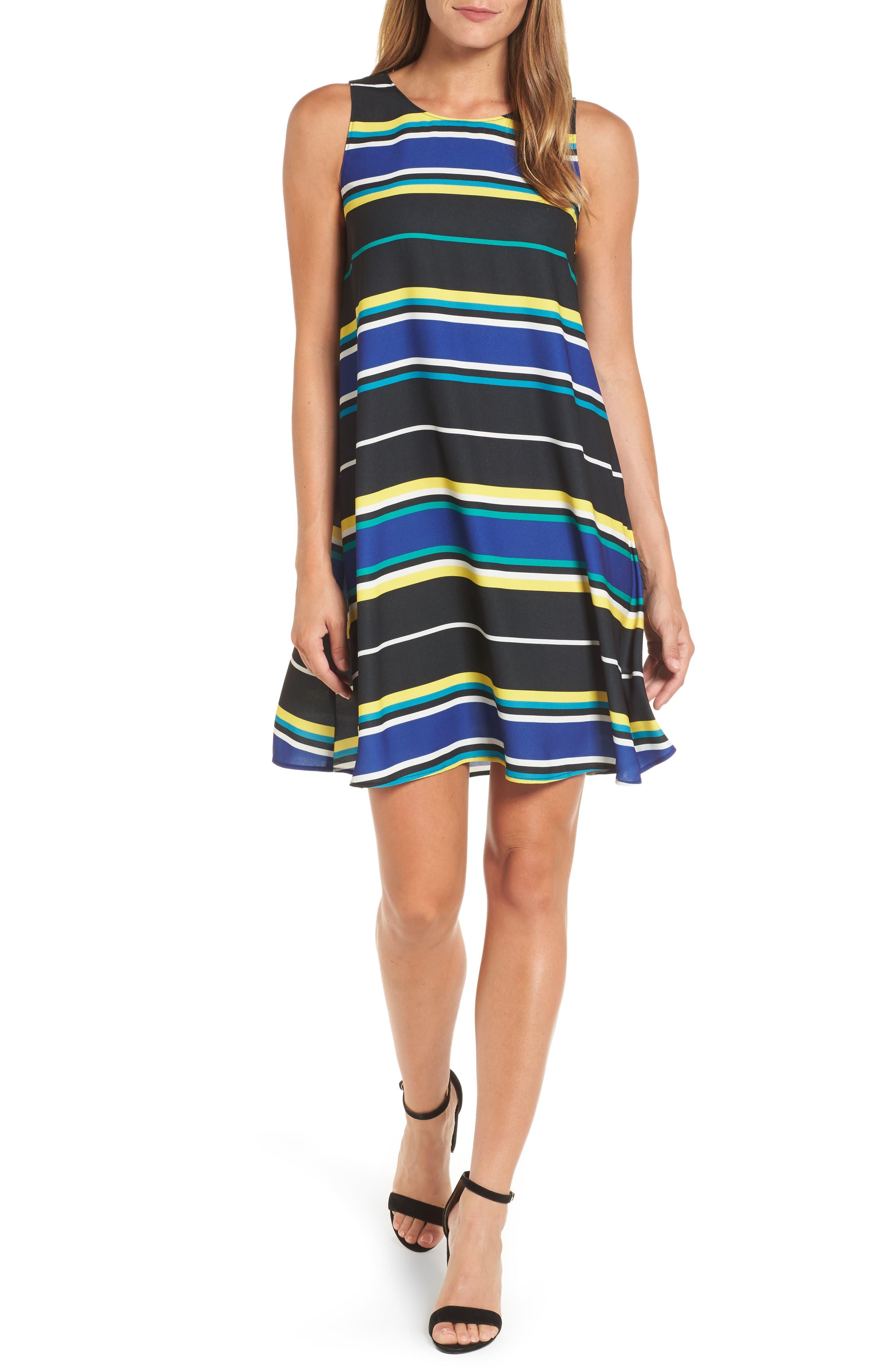 A-Line Dress,                             Main thumbnail 1, color,                             005