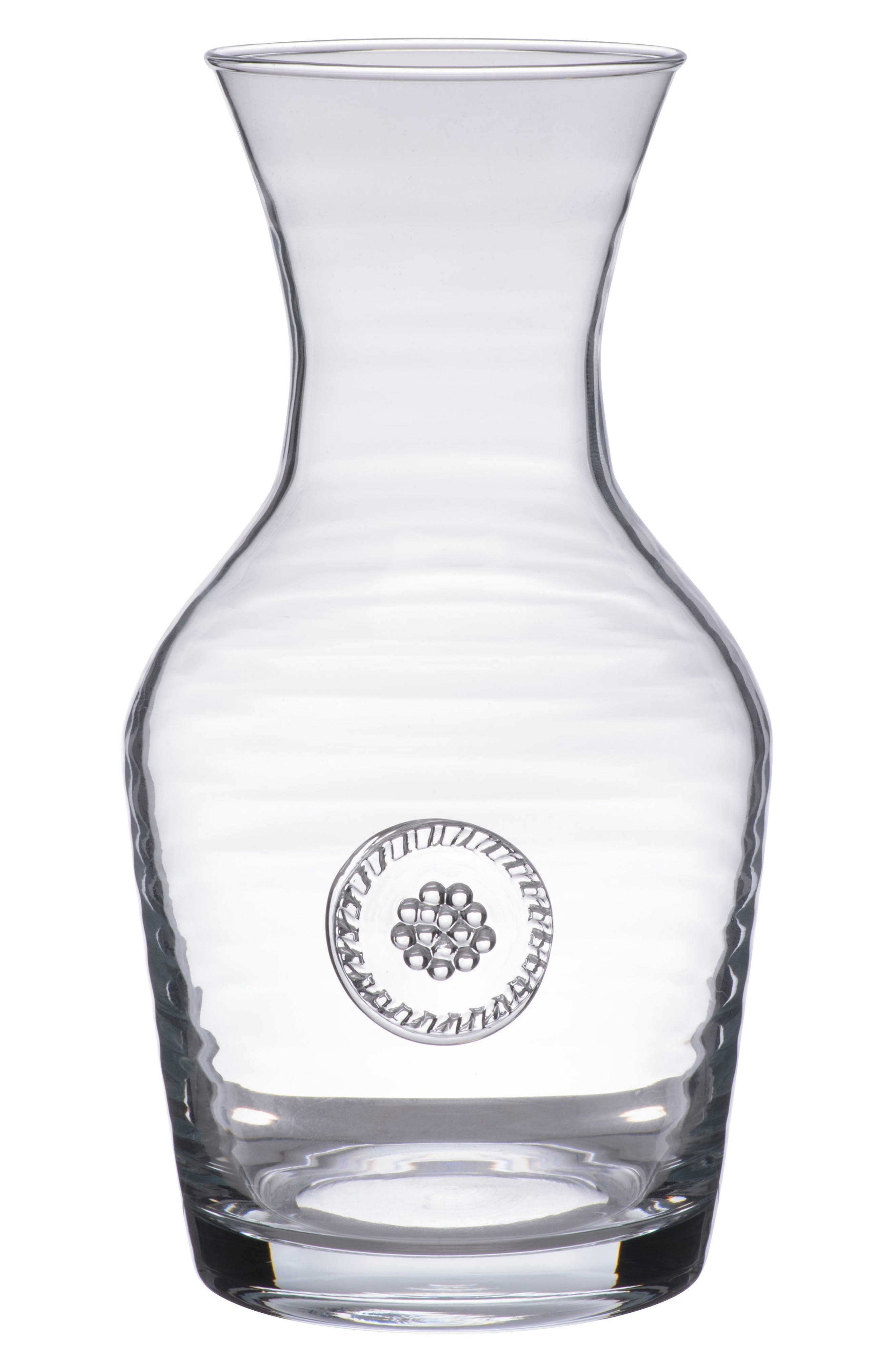 Berry & Thread Wine Carafe,                             Main thumbnail 1, color,                             CLEAR