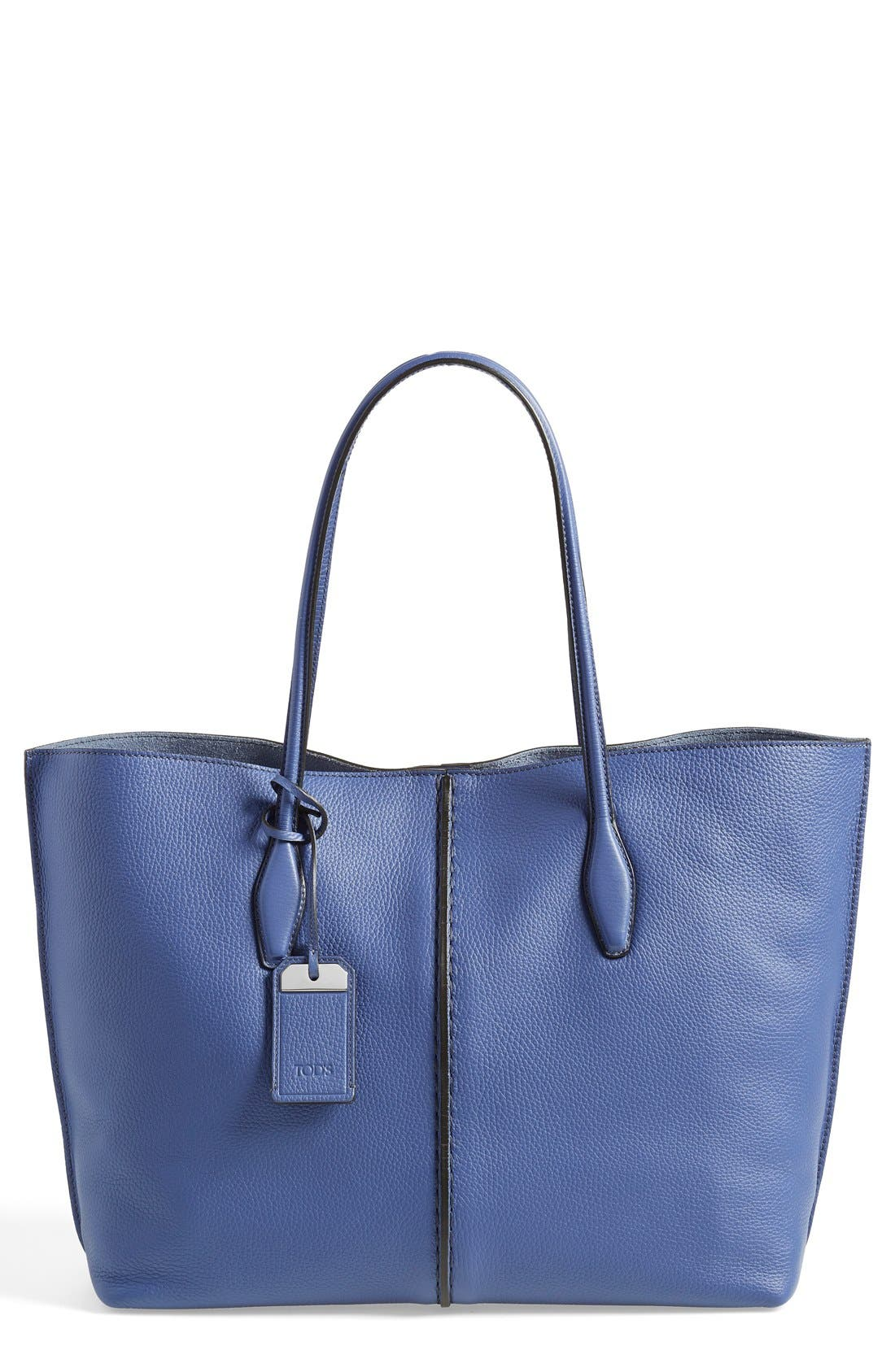 'Large Joy' Leather Tote, Main, color, 400