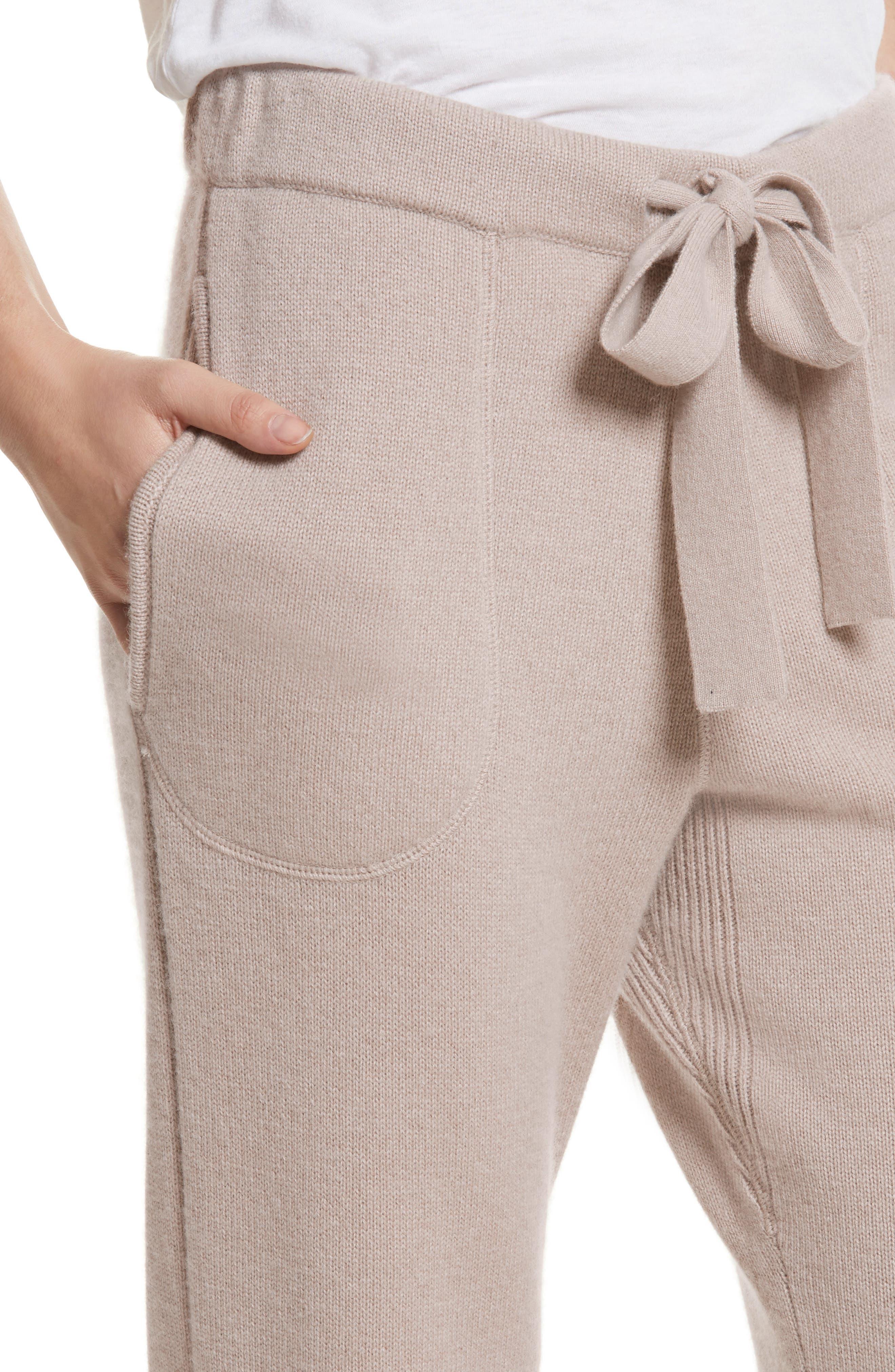 Sutton Cashmere Pants,                             Alternate thumbnail 4, color,                             211