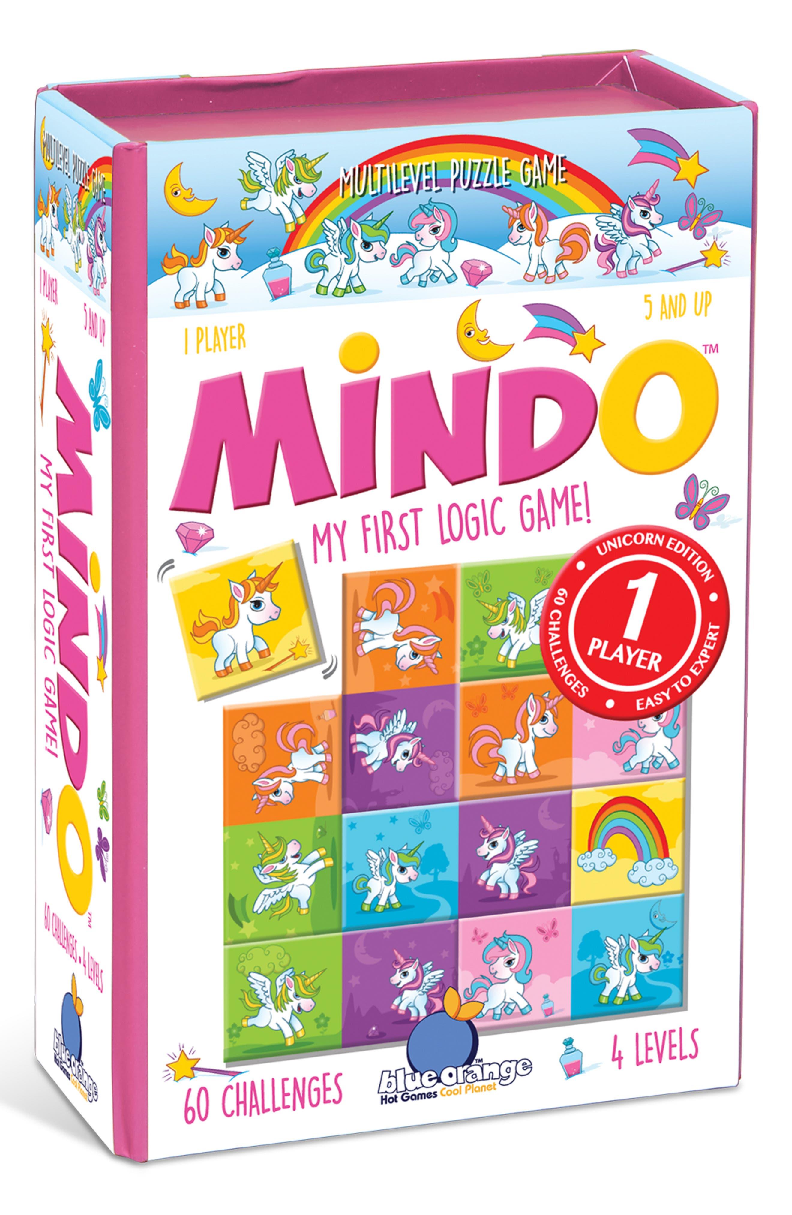 Mindo Unicorn Logic Game,                             Main thumbnail 1, color,                             N/A