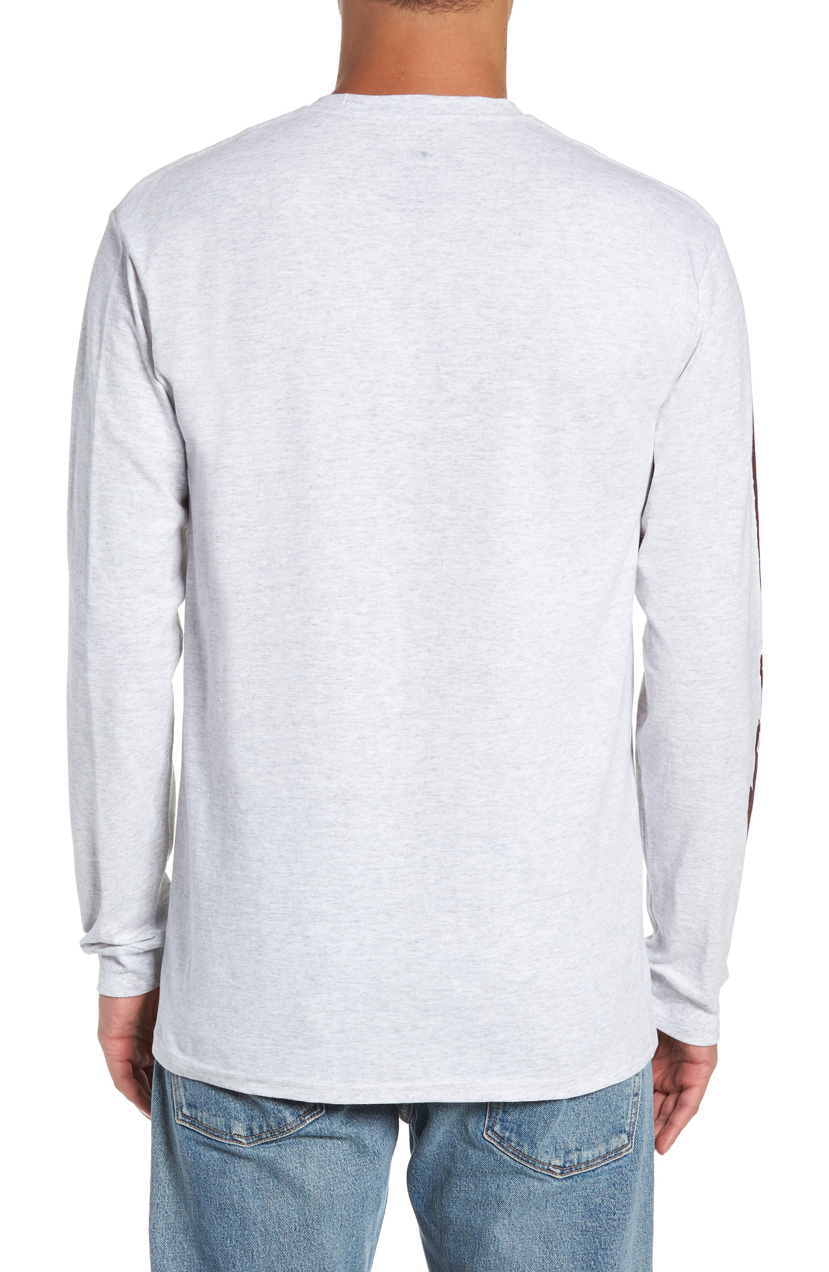 Check It Long Sleeve T-Shirt,                             Alternate thumbnail 2, color,                             ASH HEATHER