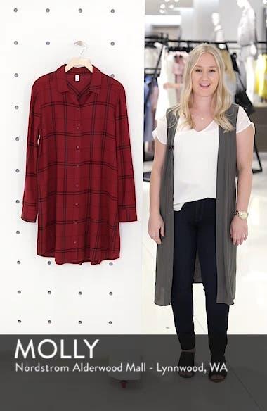 Plaid Shirt Dress, sales video thumbnail
