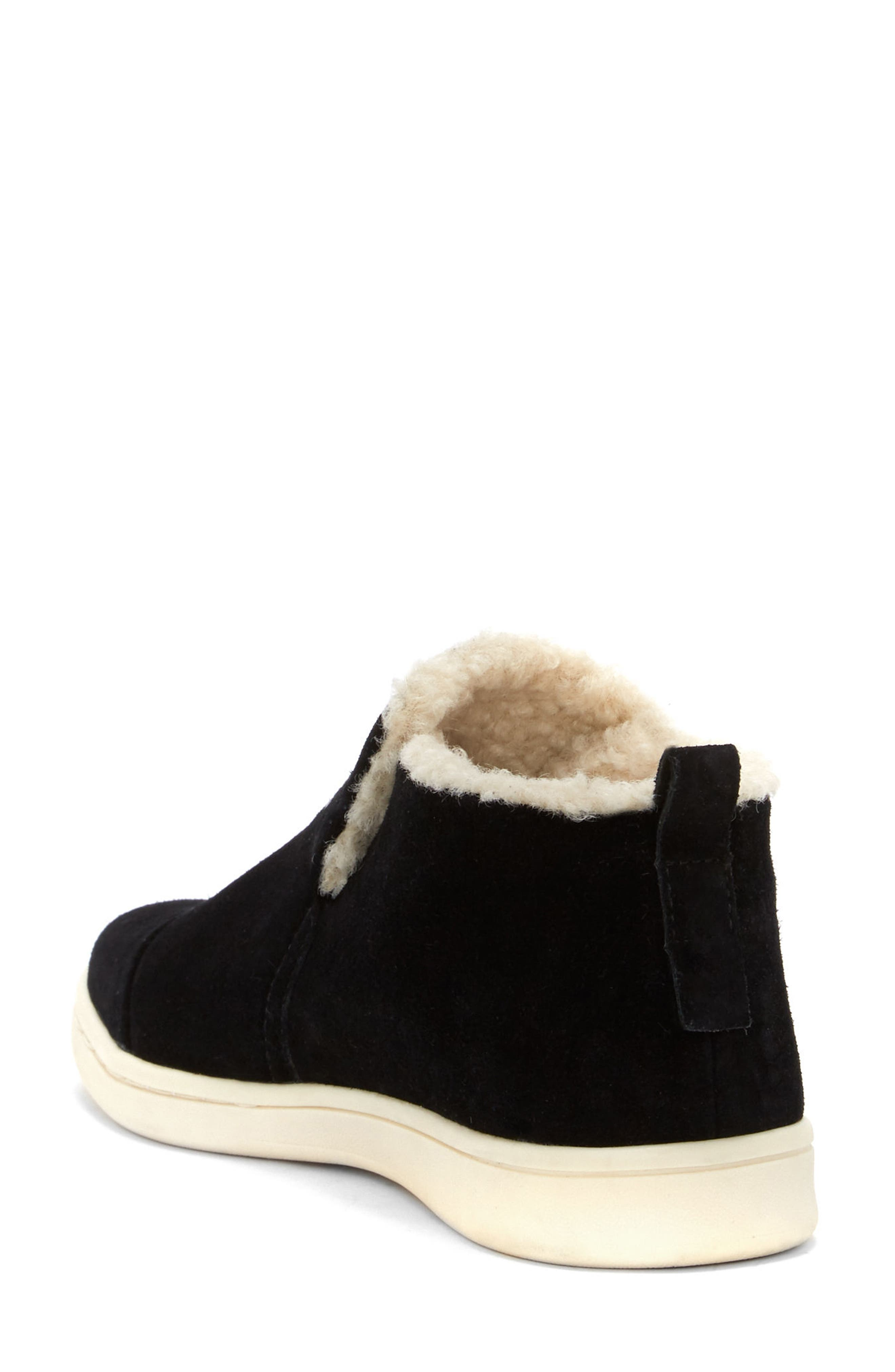 Cambon Faux-Shearling Lined Bootie,                             Alternate thumbnail 2, color,                             002