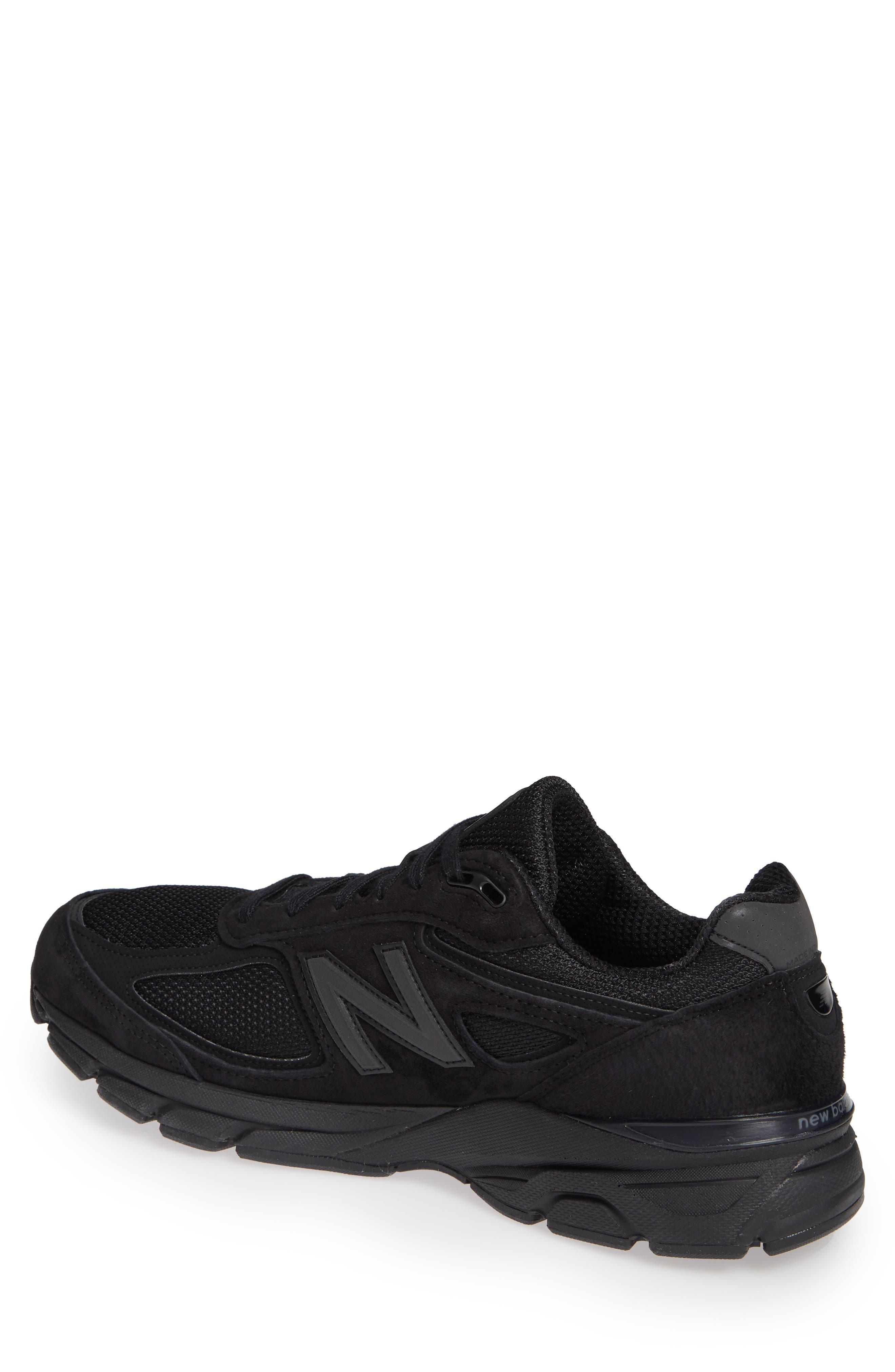 '990' Running Shoe,                             Alternate thumbnail 2, color,                             BLACK/BLACk