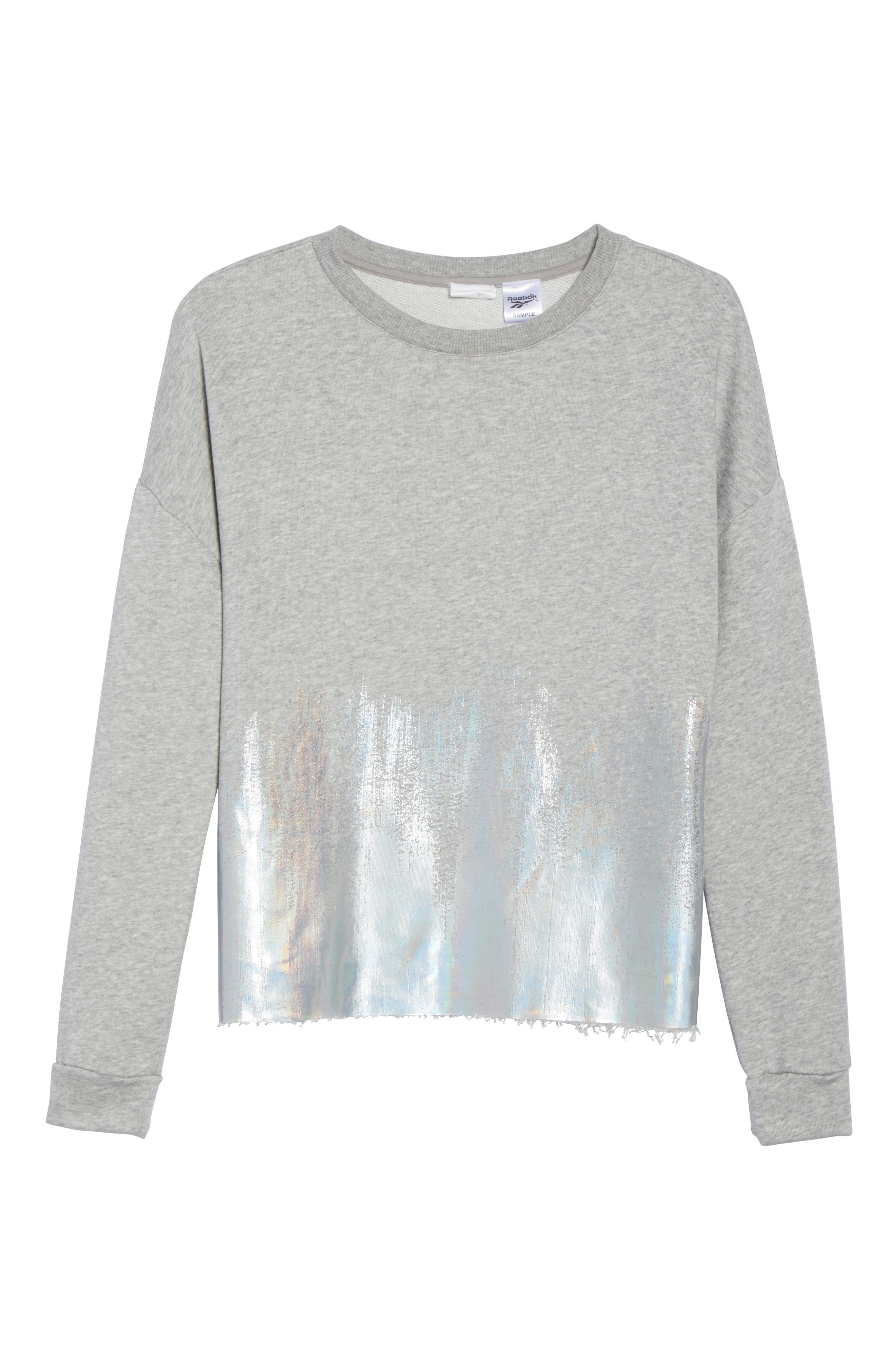 Foil Crewneck Shirt,                             Alternate thumbnail 7, color,