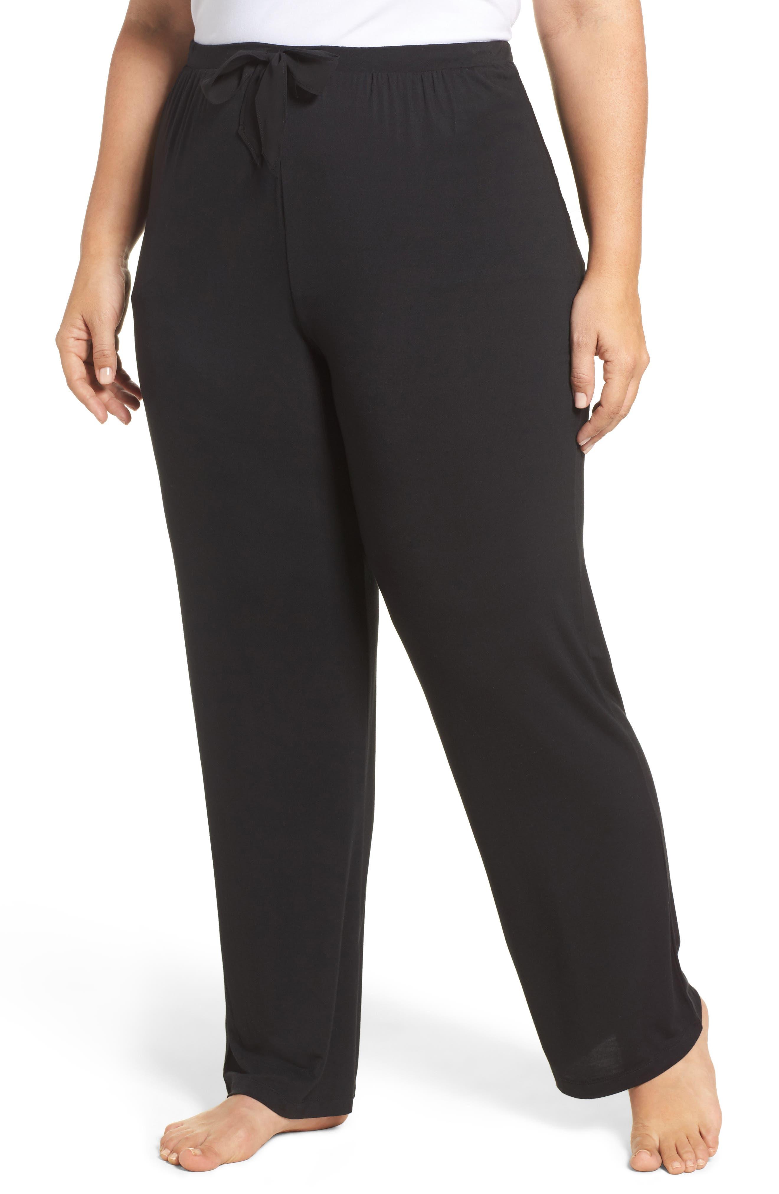 Stretch Modal Pants,                         Main,                         color, 001
