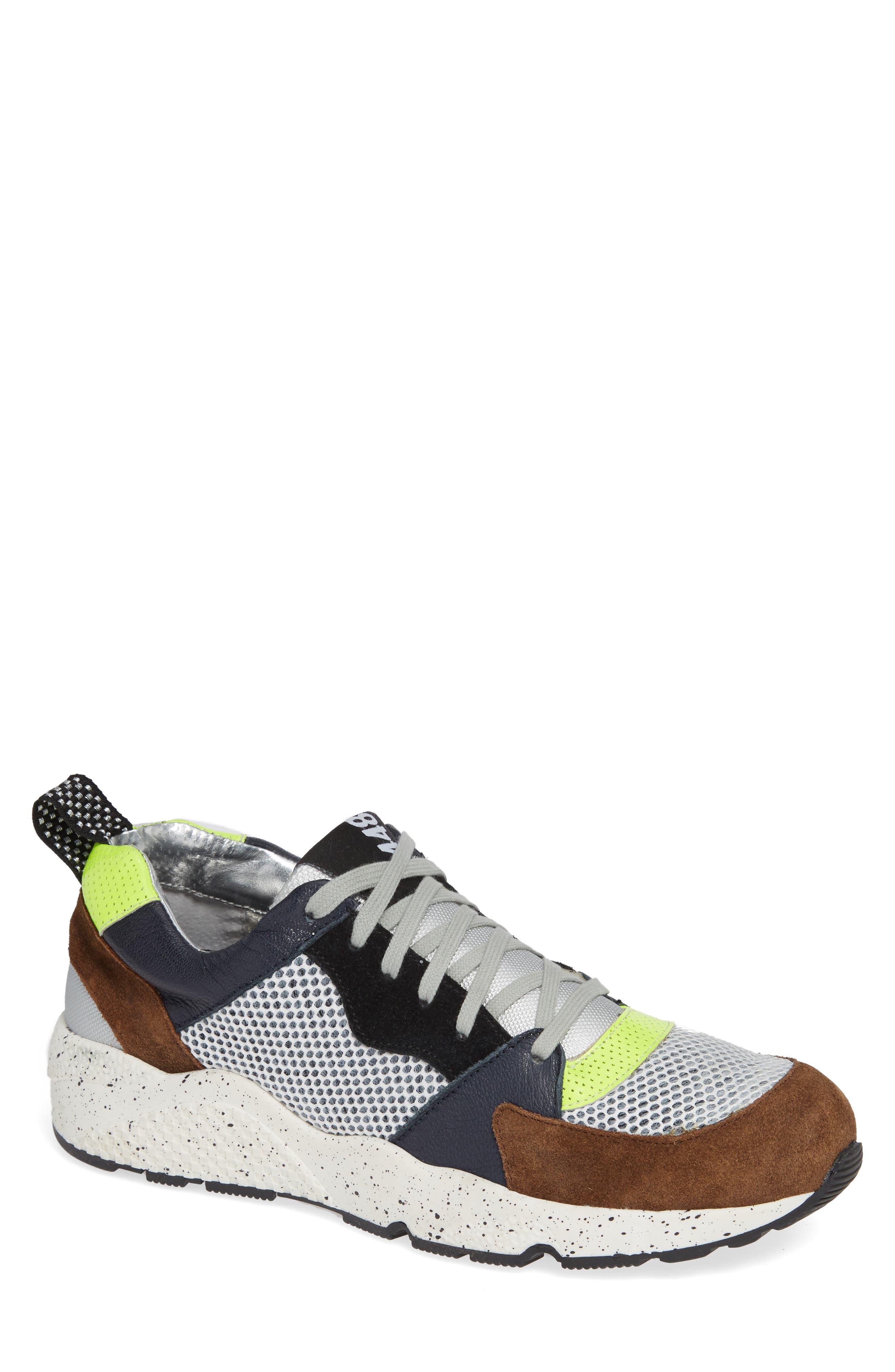 P448 A8Alex Sneaker, Main, color, YELLOW