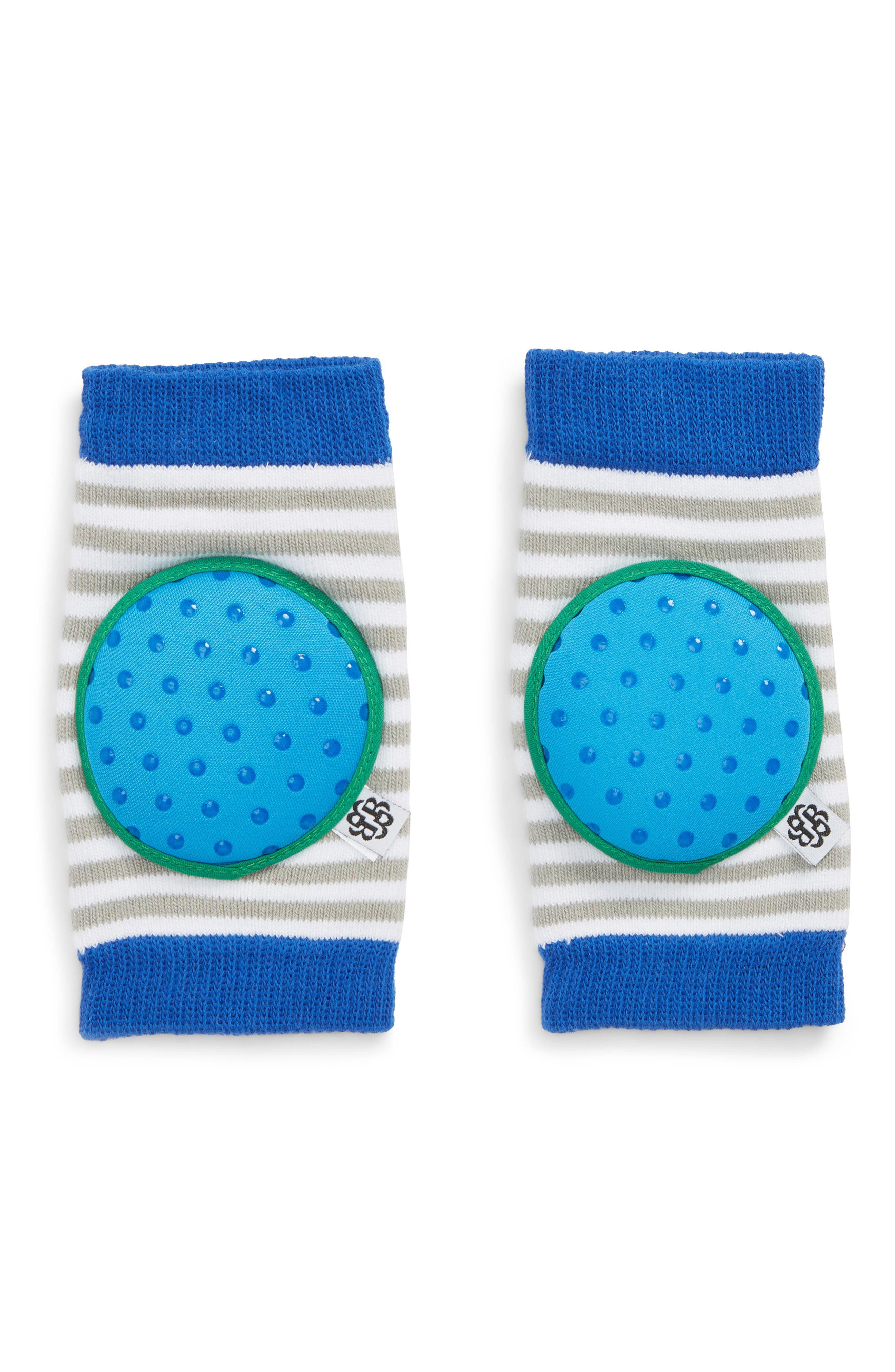 'Happy Knees' Protective Knee Pads,                             Main thumbnail 1, color,                             BINGO BLUE