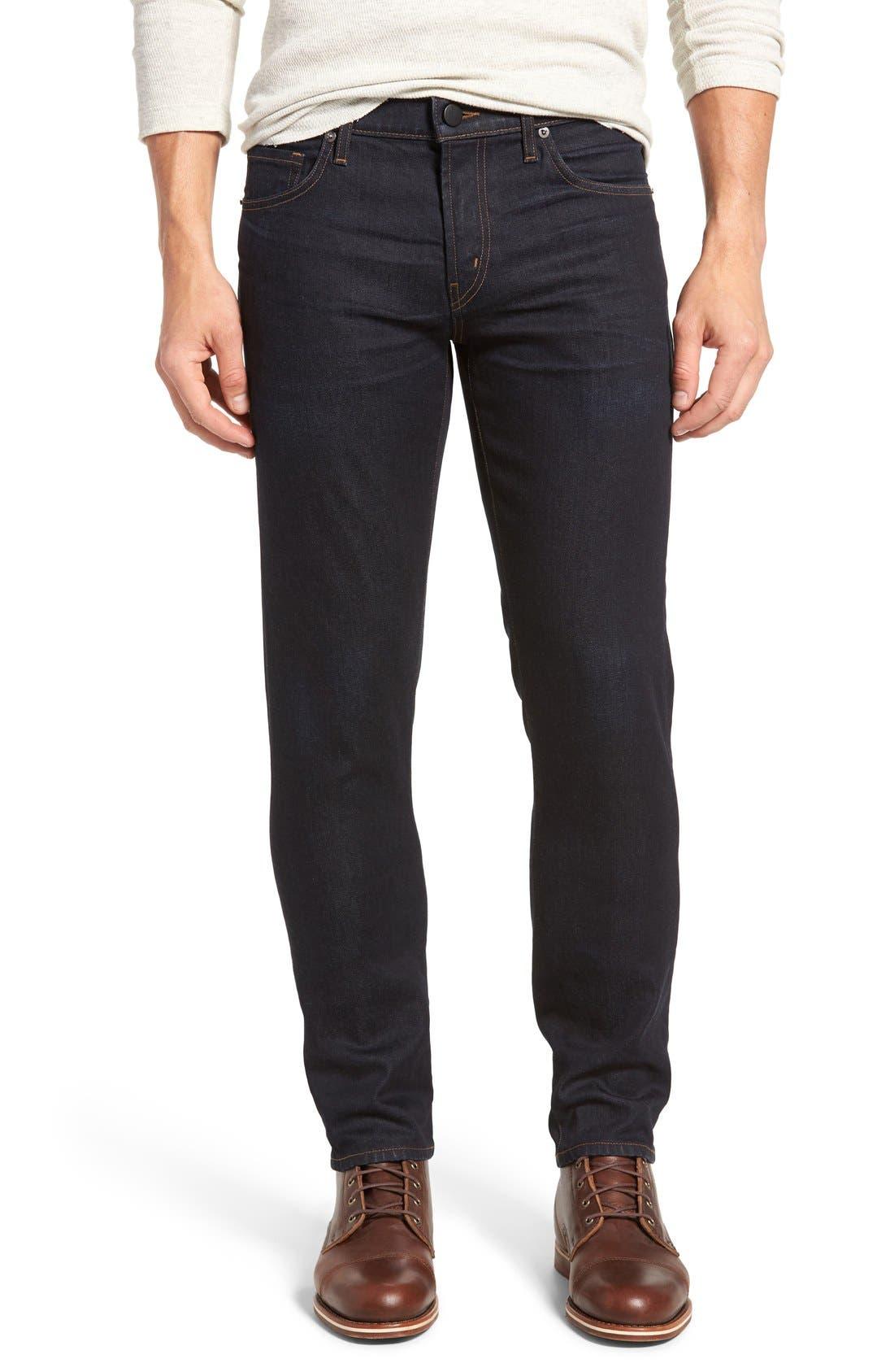 Tyler Slim Fit Jeans,                             Main thumbnail 1, color,                             WILSON BLUE