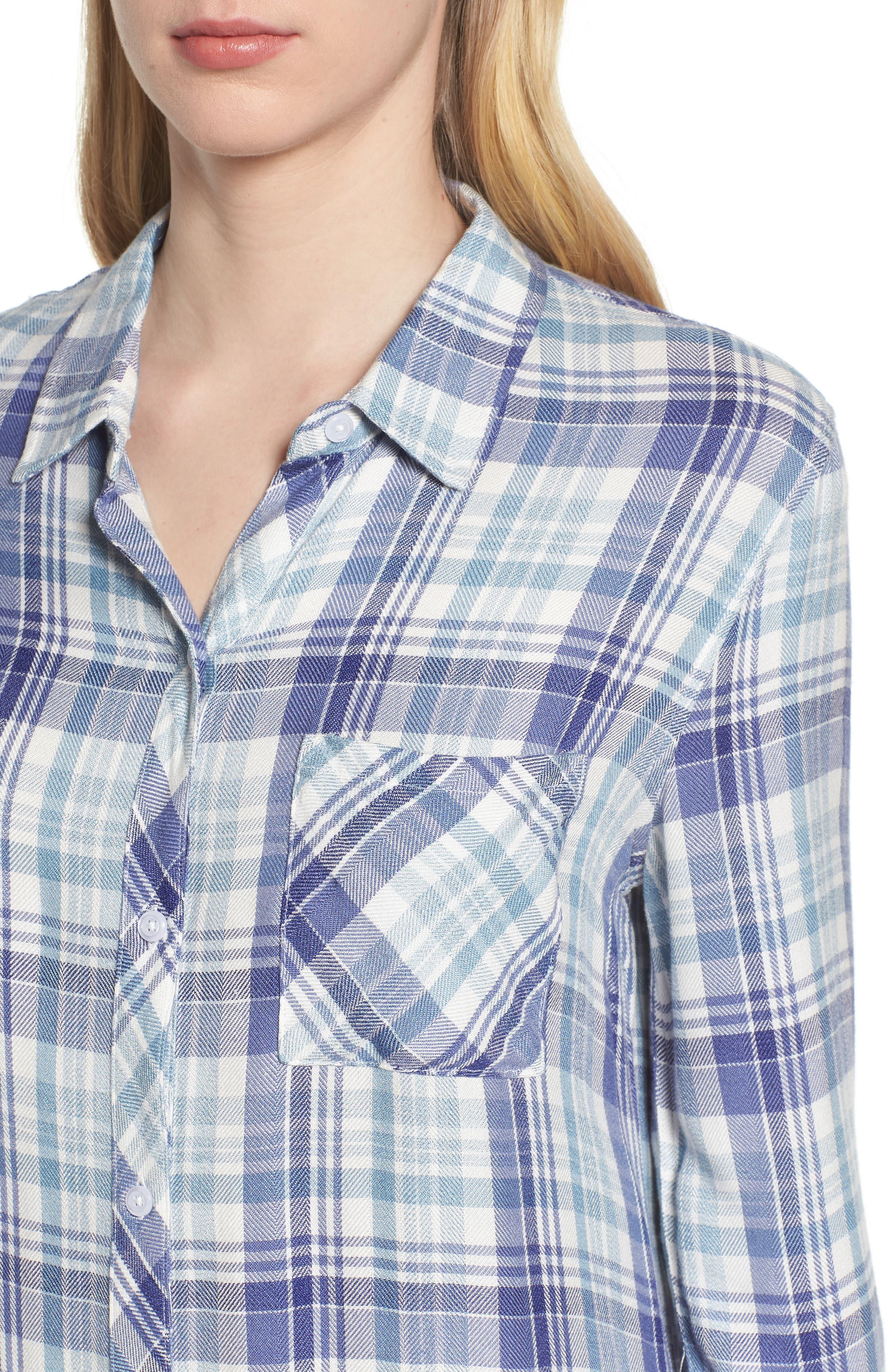 Hunter Plaid Shirt,                             Alternate thumbnail 463, color,