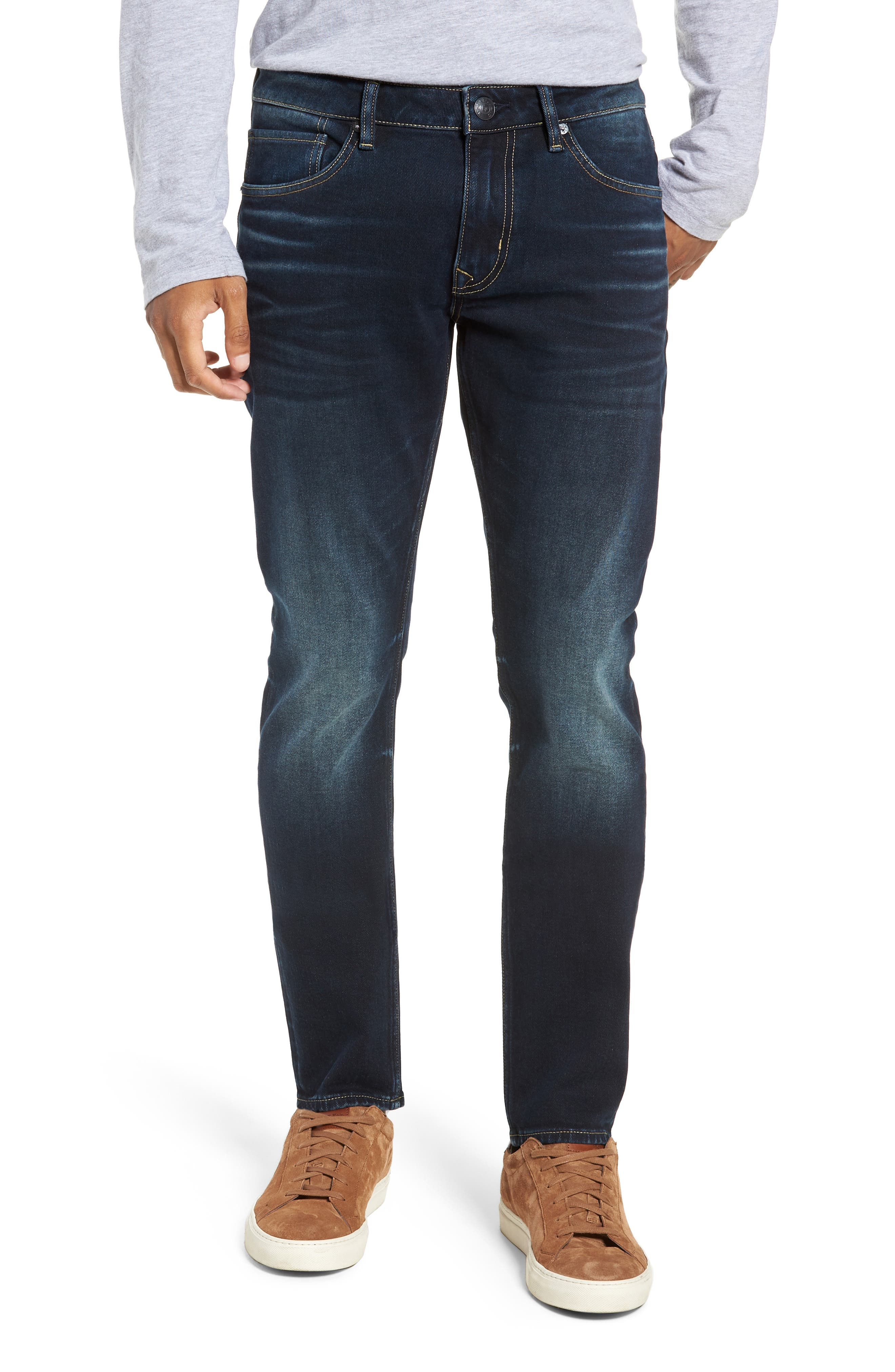 Jude Slim Fit Jeans,                             Main thumbnail 1, color,                             DARK 3D WASH