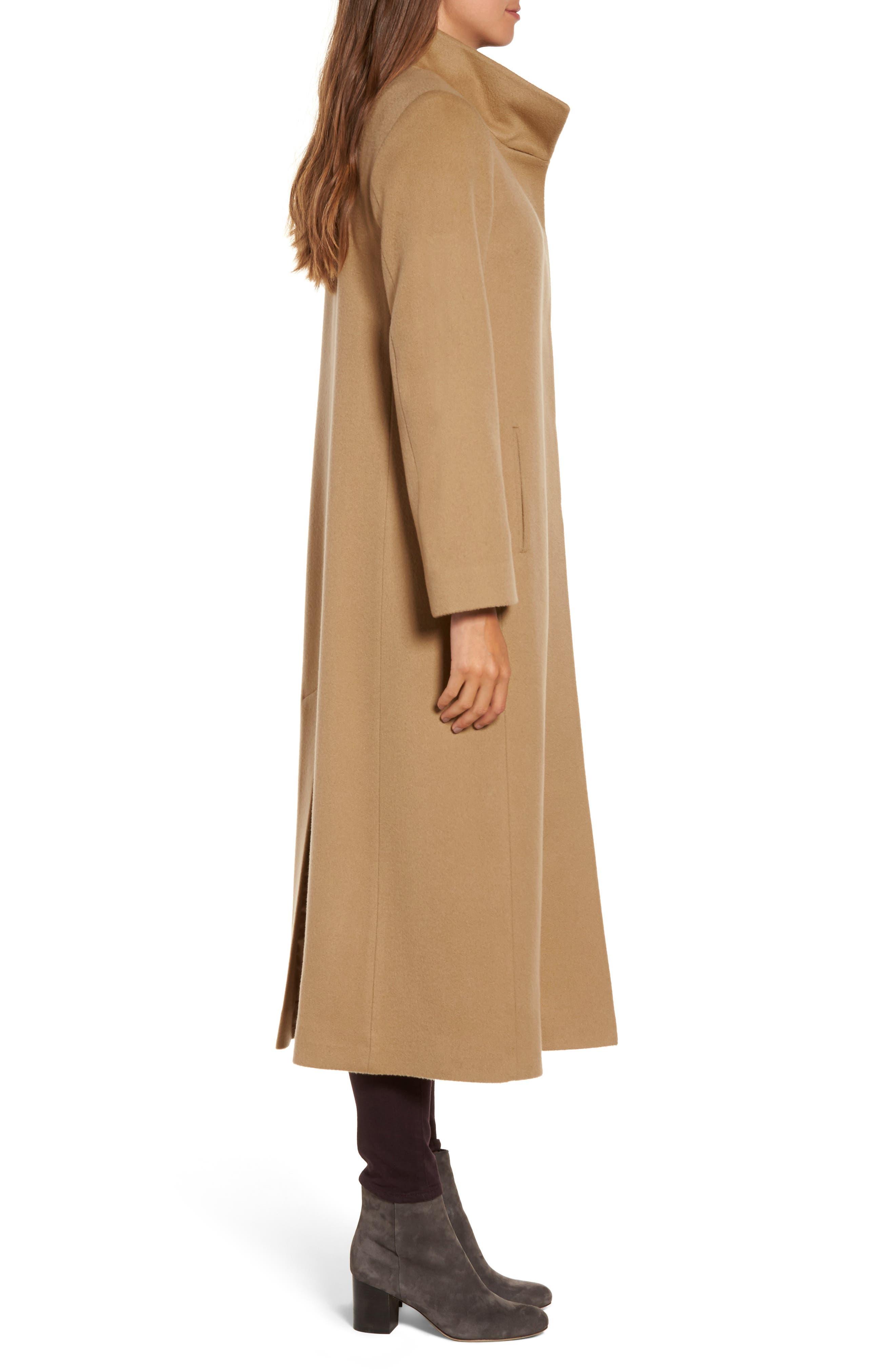 Cashmere Long Coat,                             Alternate thumbnail 6, color,
