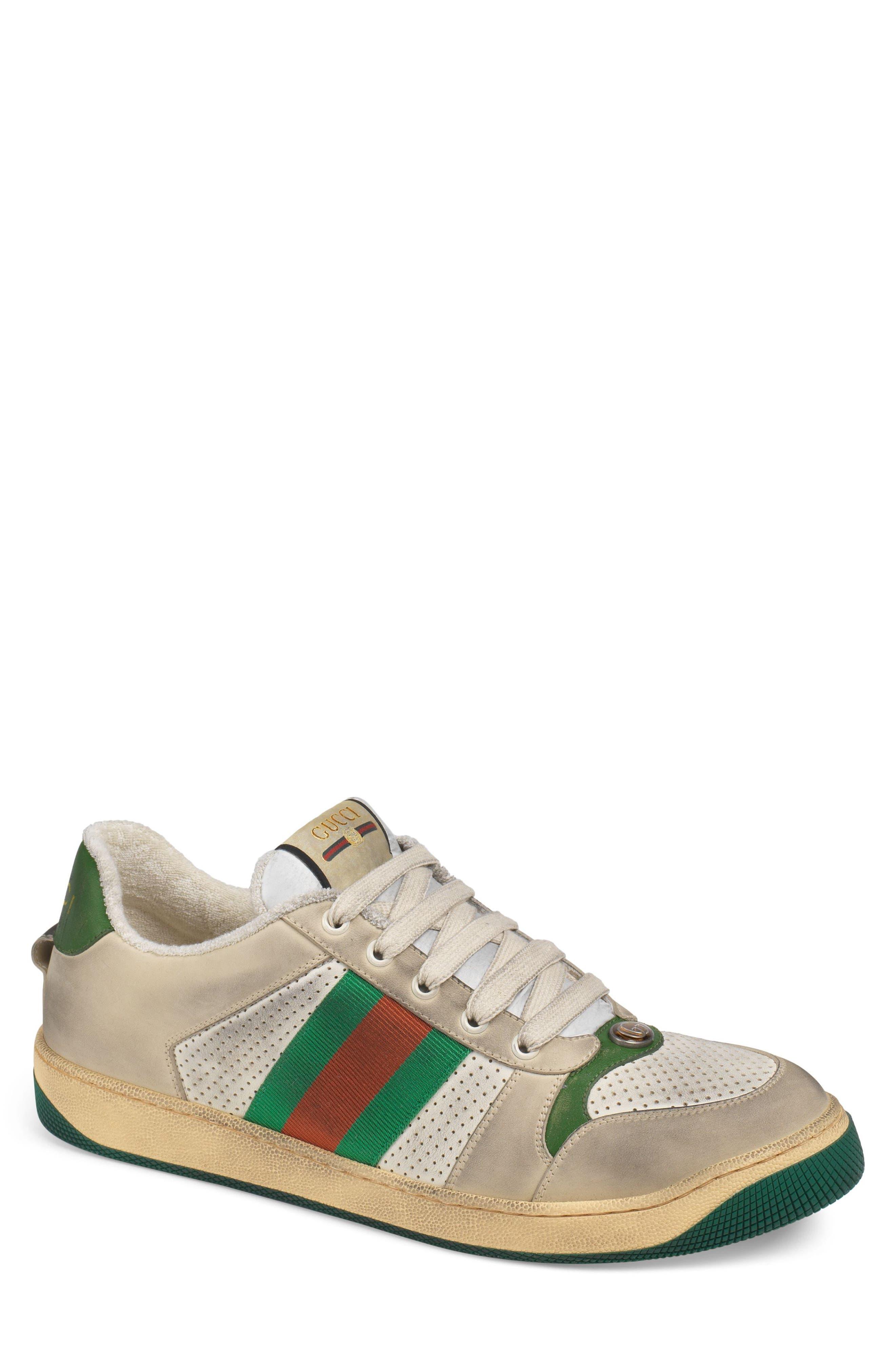 Screener Jewel Sneaker,                             Alternate thumbnail 2, color,                             BEIGE/ GREEN/ RED
