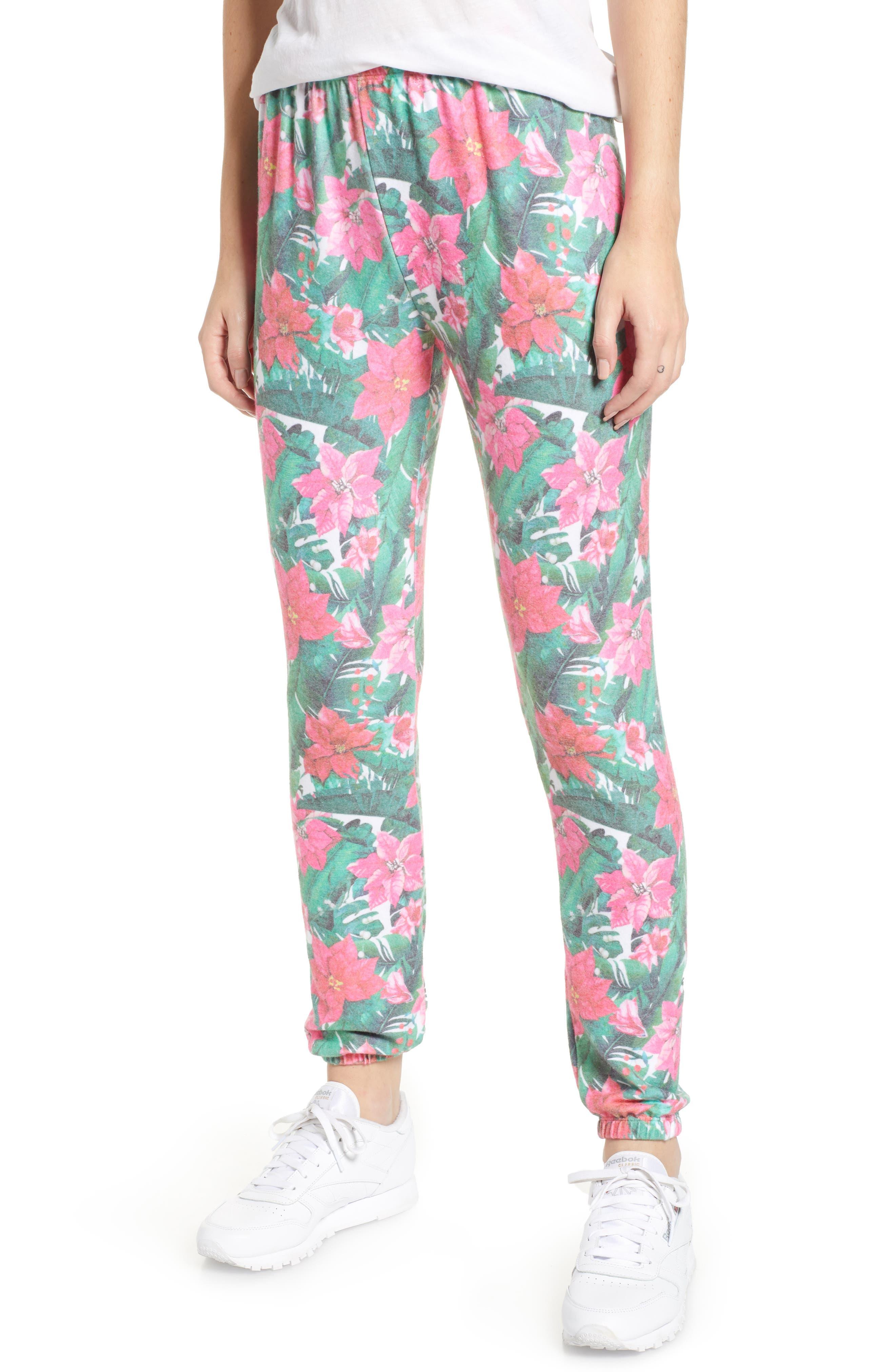 Island Holiday Pants,                         Main,                         color, MULTI