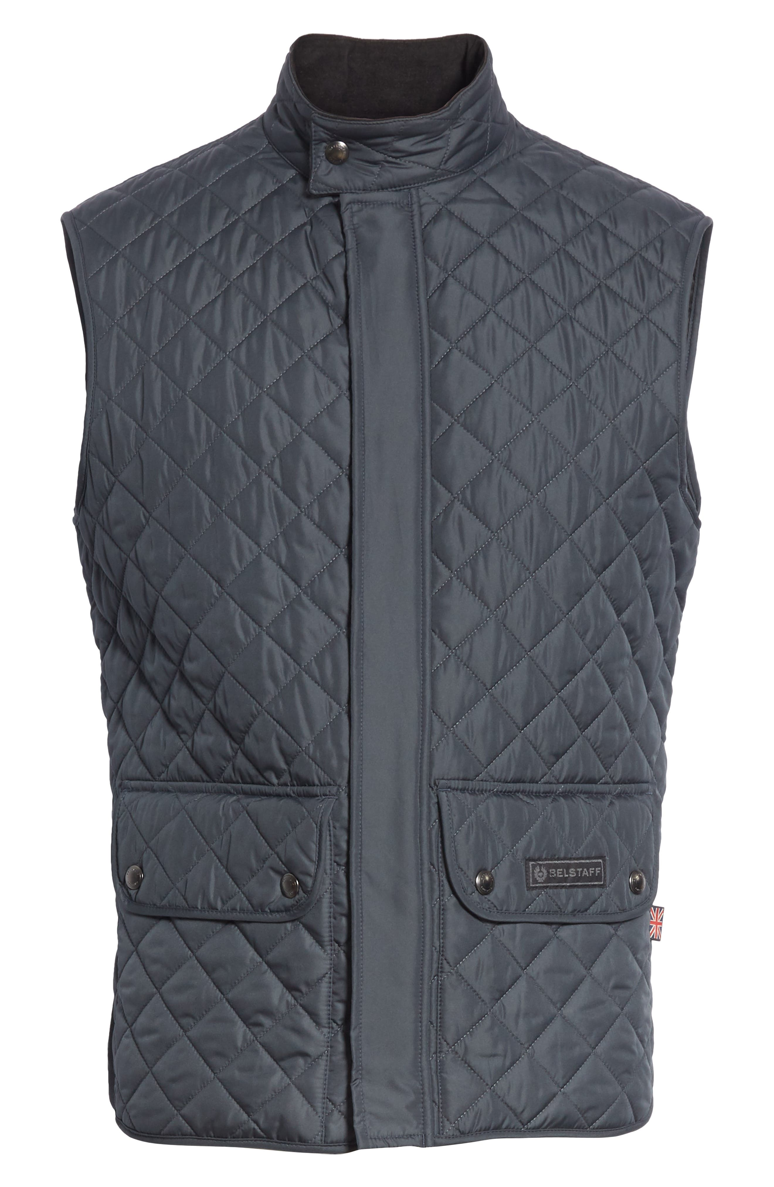 Waistcoat Tech Quilted Vest,                             Alternate thumbnail 5, color,                             400