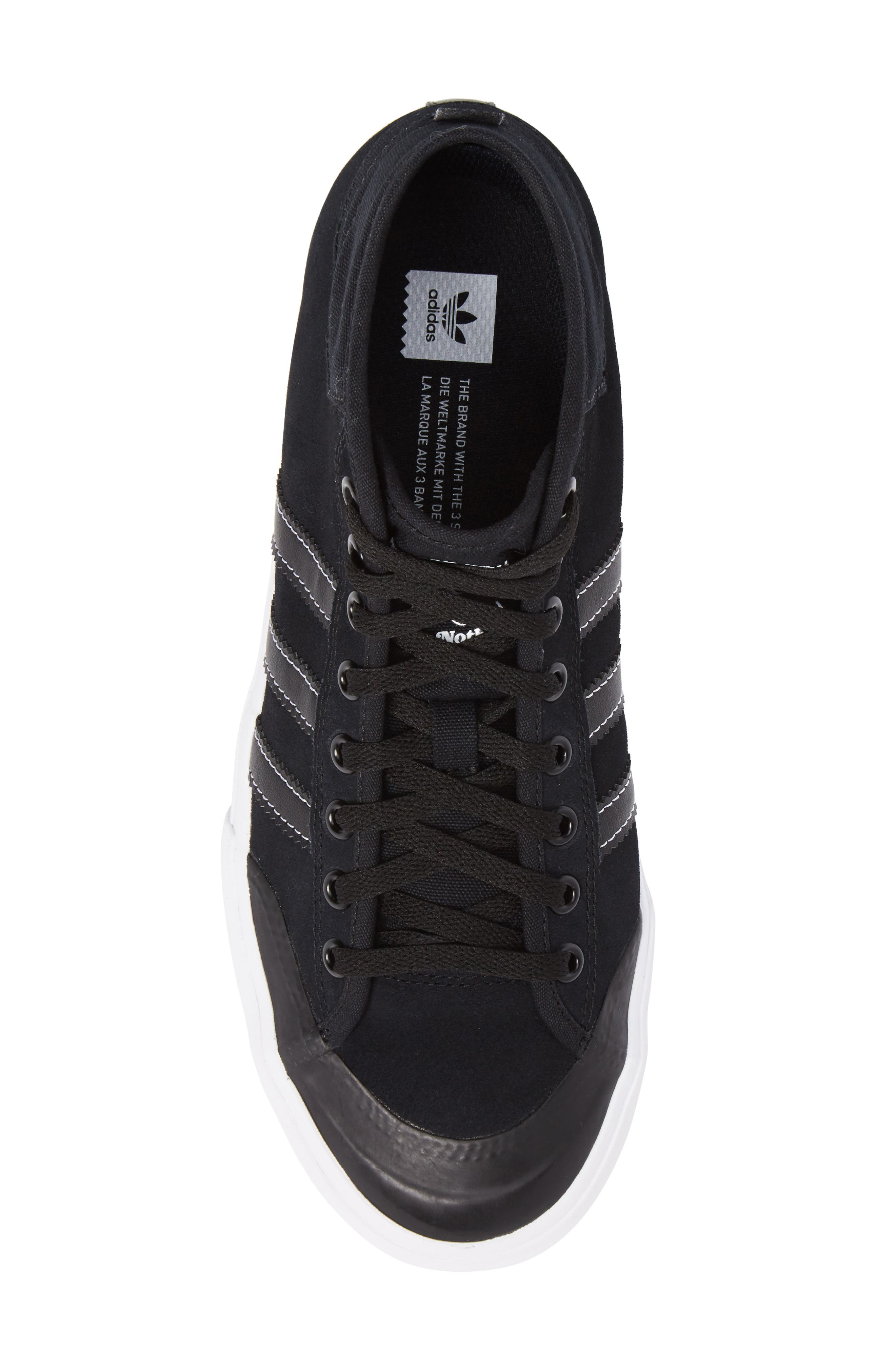 Matchcourt Mid ADV Sneaker,                             Alternate thumbnail 5, color,                             001