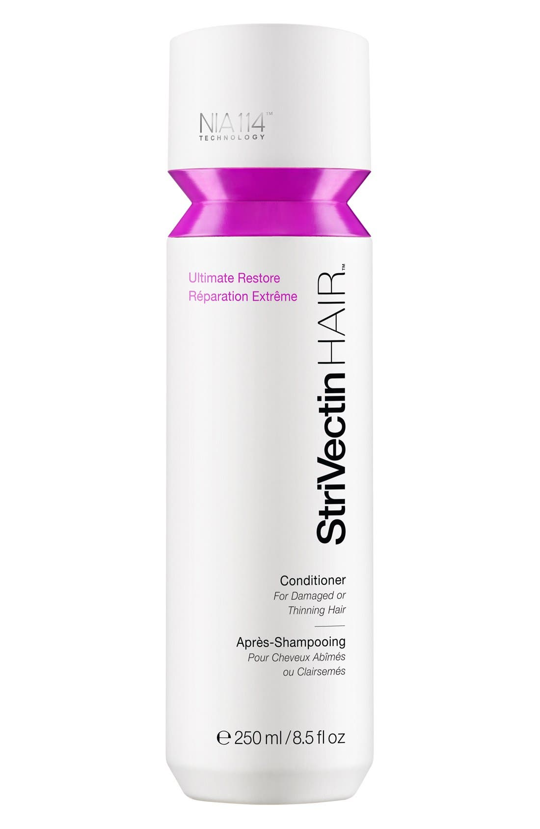 StriVectinHAIR<sup>™</sup> 'Ultimate Restore' Conditioner for Damaged or Thinning Hair,                             Main thumbnail 1, color,                             000