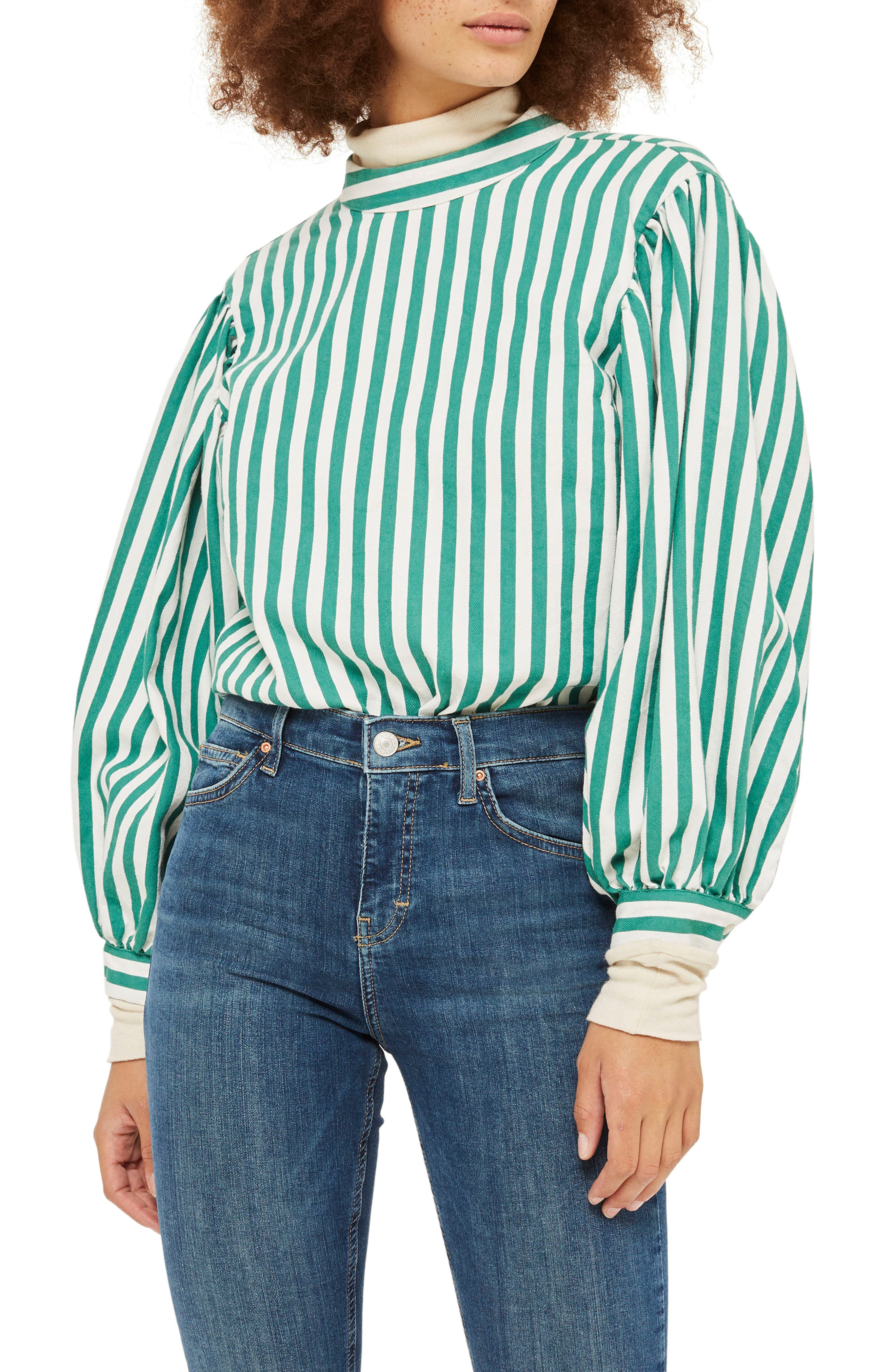 Jamie Petite Mid Denim Jeans,                             Alternate thumbnail 3, color,                             400