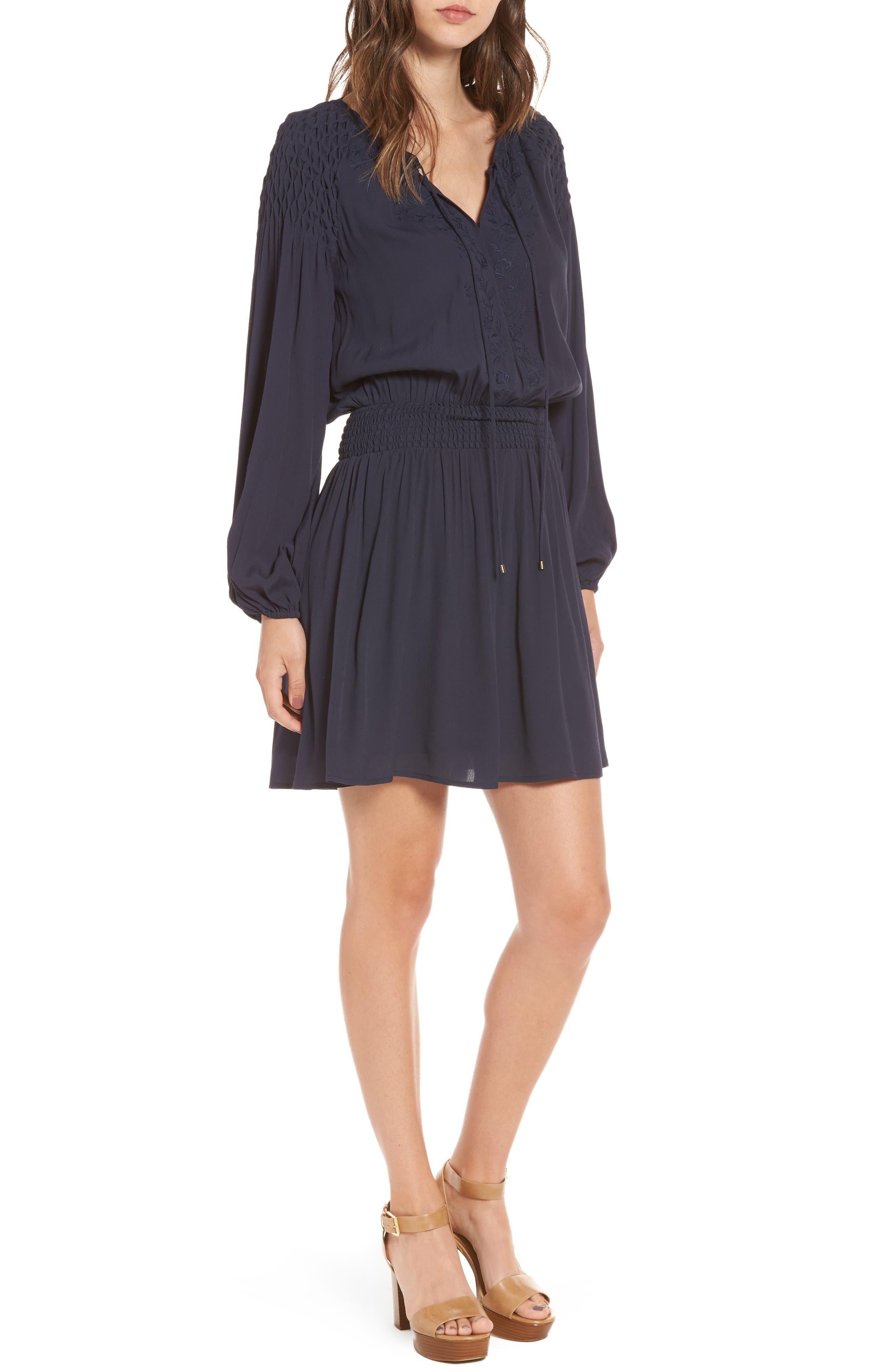 Melinda Blouson Dress,                             Main thumbnail 1, color,
