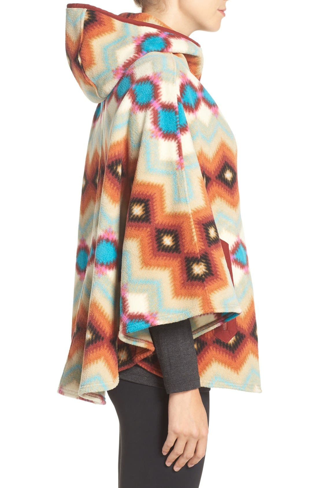 'Synchilla' Fleece Poncho,                             Alternate thumbnail 8, color,