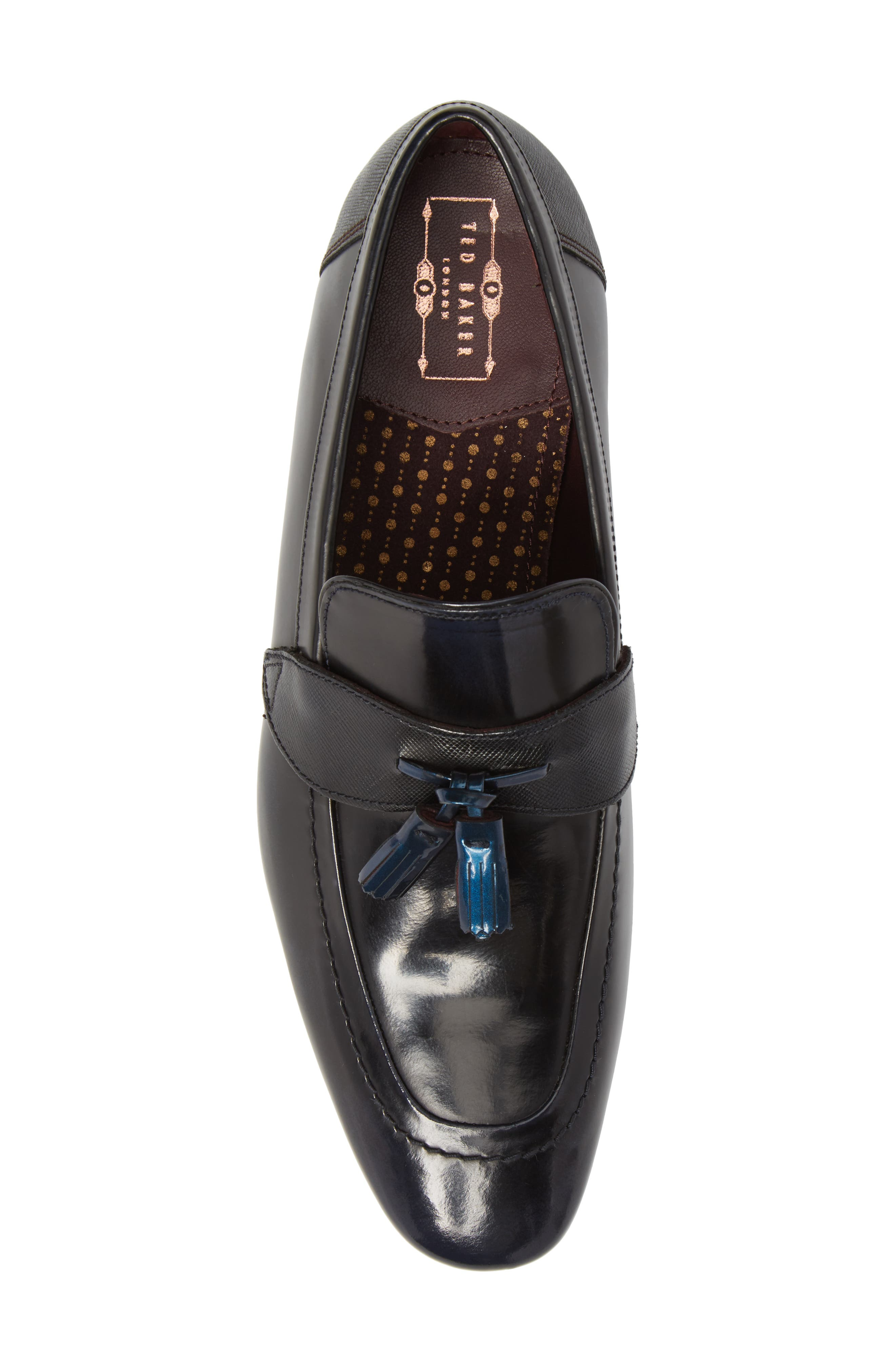 Grafit Tassel Loafer,                             Alternate thumbnail 5, color,                             416