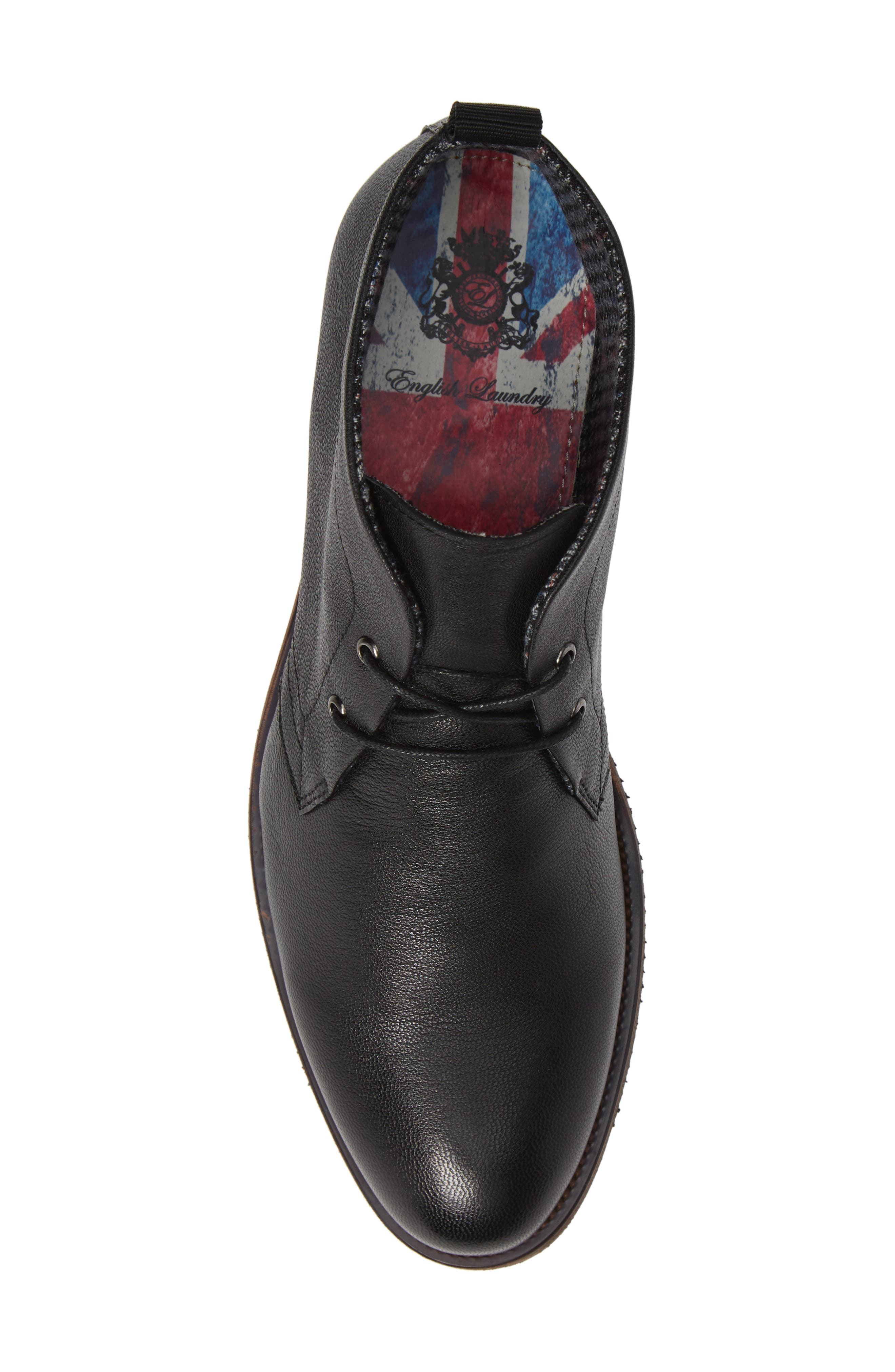 Sheffield Chukka Boot,                             Alternate thumbnail 5, color,                             BLACK