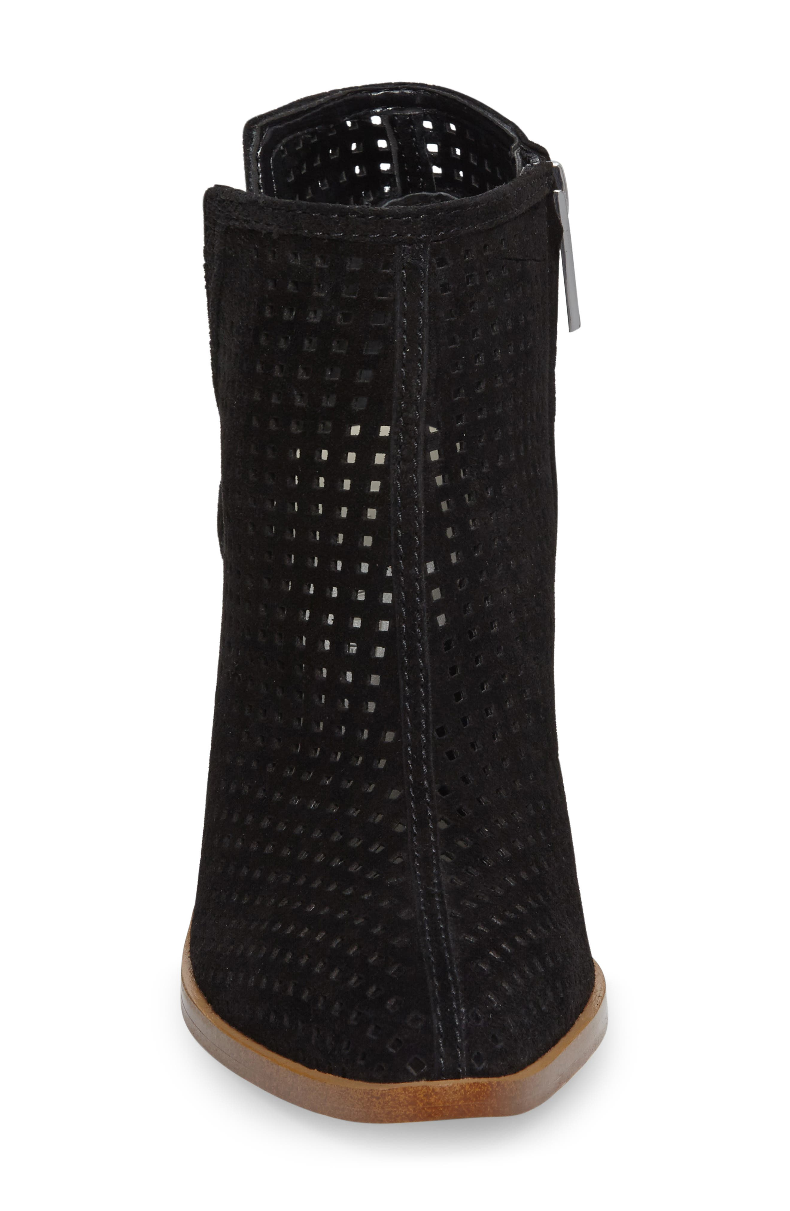 1. STATE Larocka Perforated Bootie,                             Alternate thumbnail 3, color,                             001